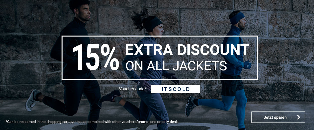 15% on jackets