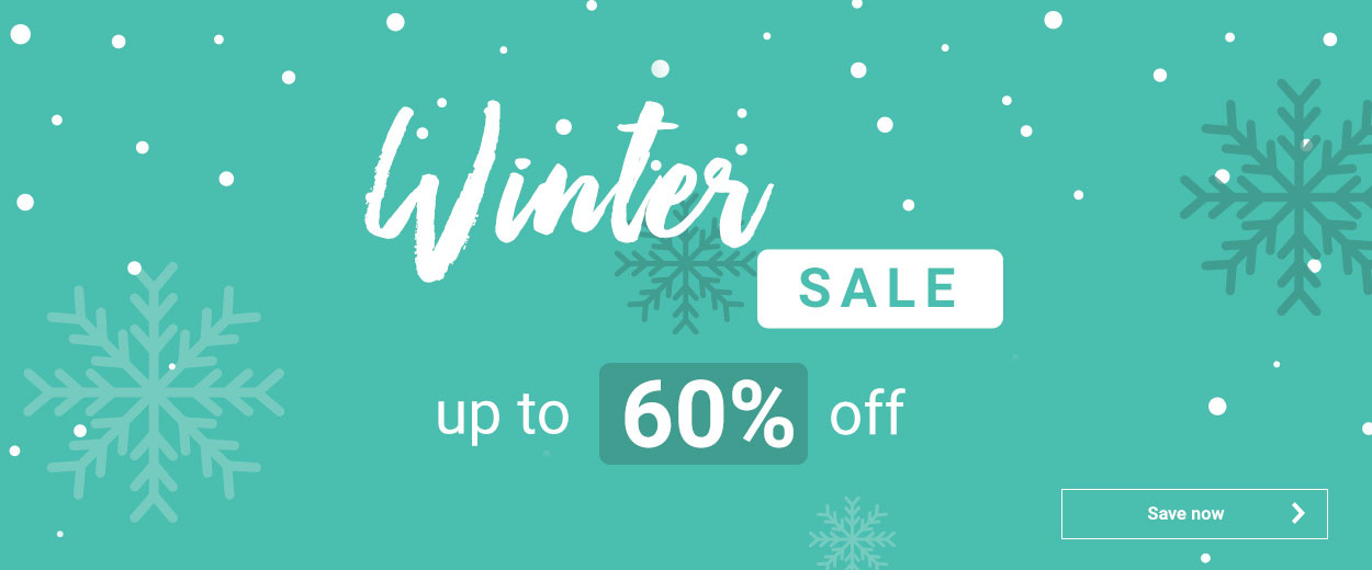 Winter Sale 60%