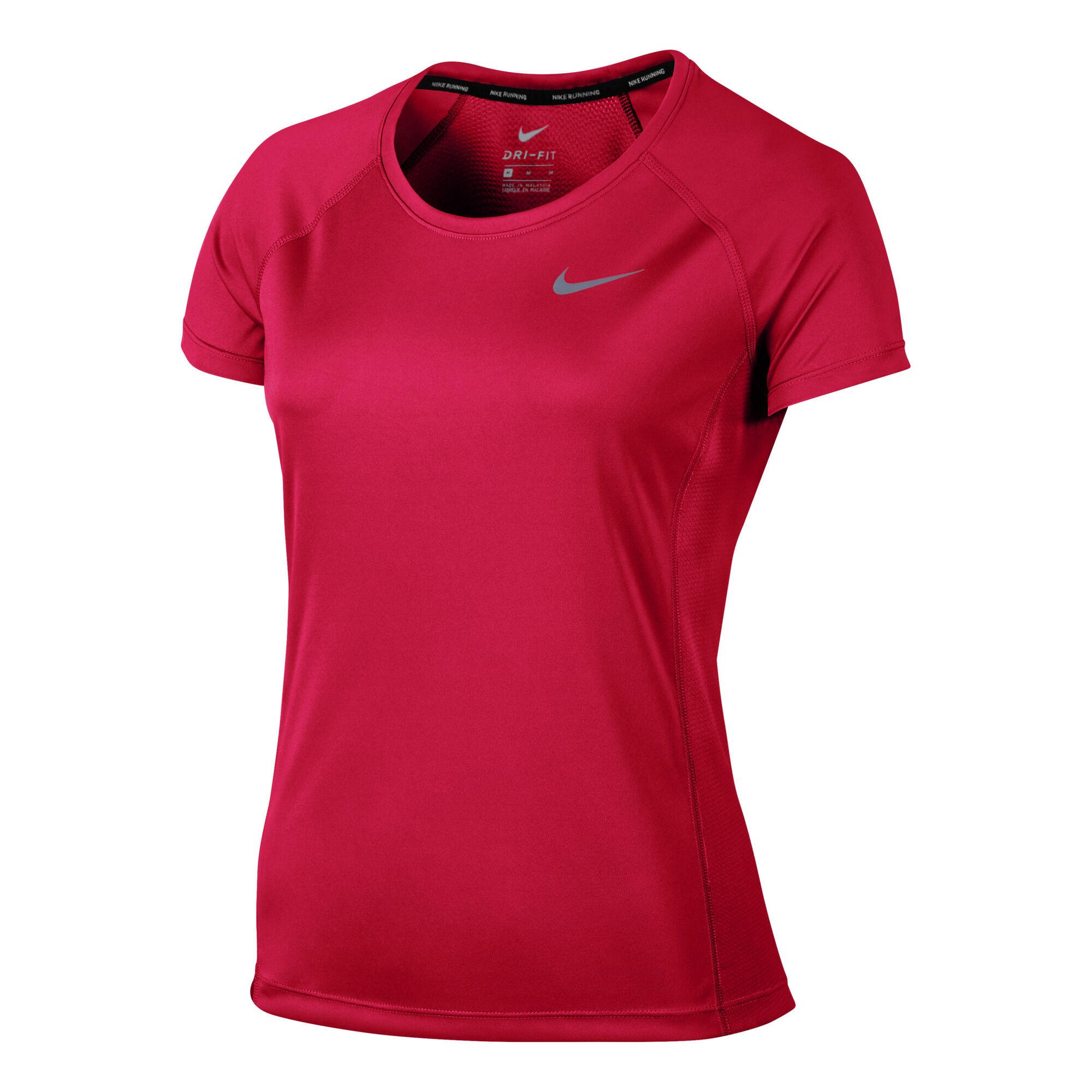 a4d85d57901 buy Nike Dry Miler T-Shirt Women - Pink, Silver online | Jogging-Point