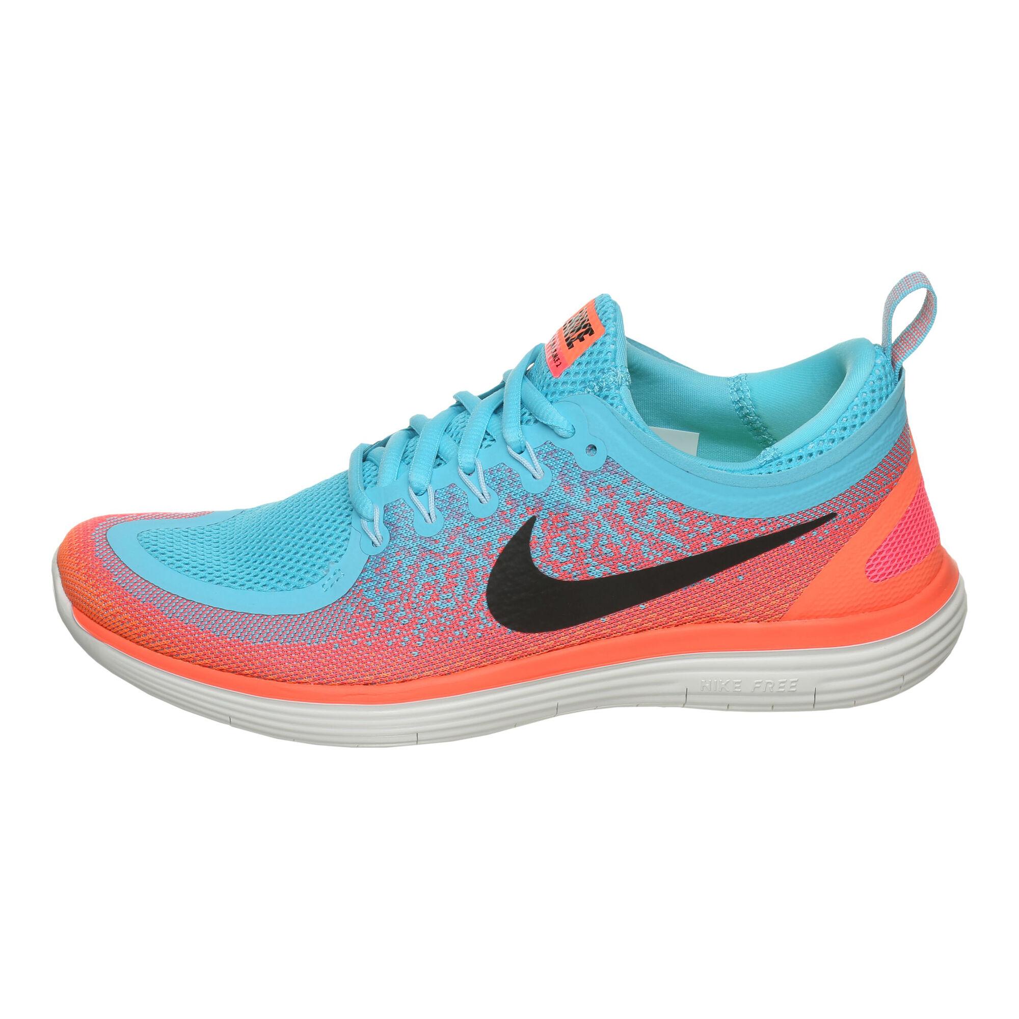 57af3fff11c3 buy Nike Free RN Distance 2 Natural Running Shoe Women - Blue