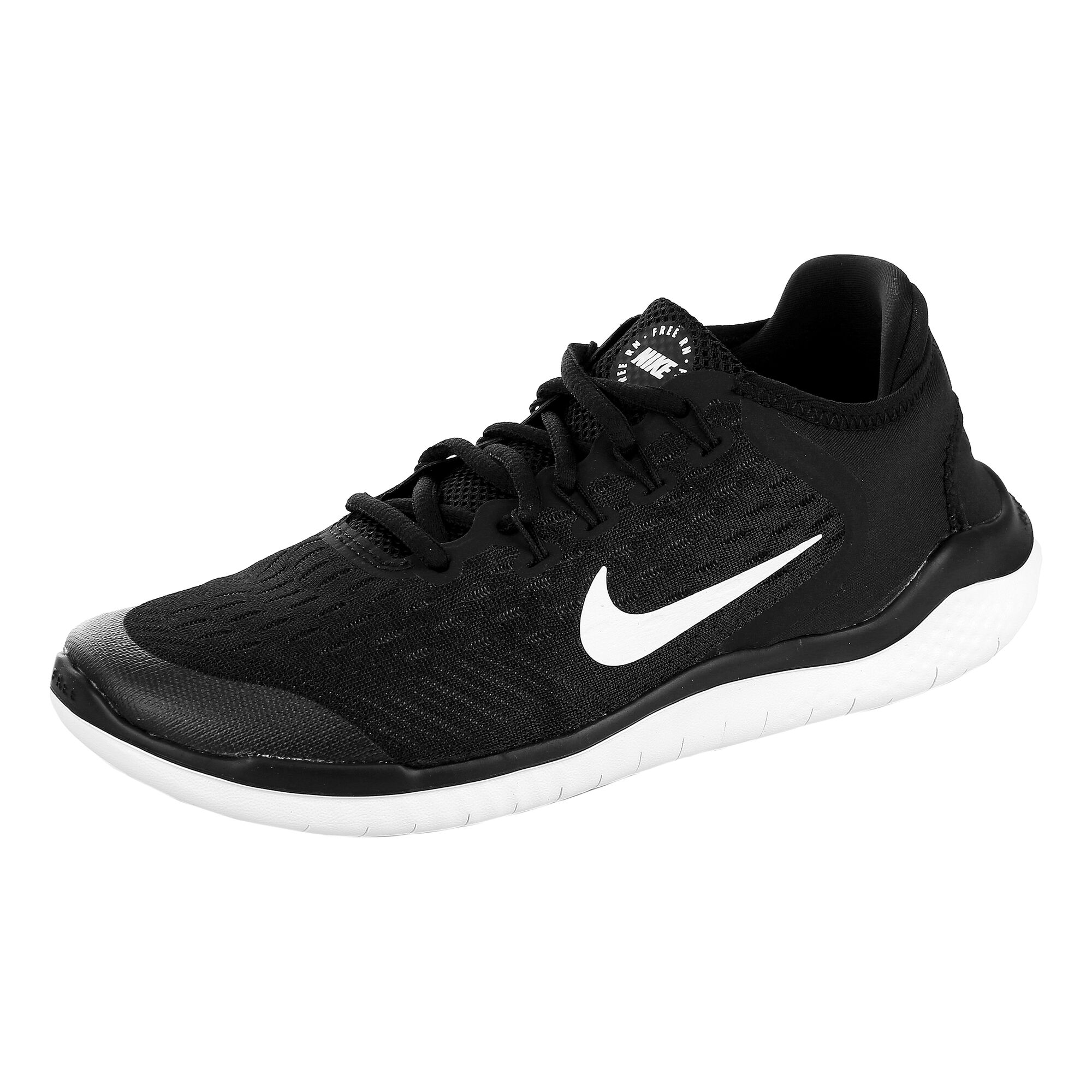 hot sale online b9590 6bdf9 buy Nike Free Run 2018 Natural Running Shoe Kids - Black ...