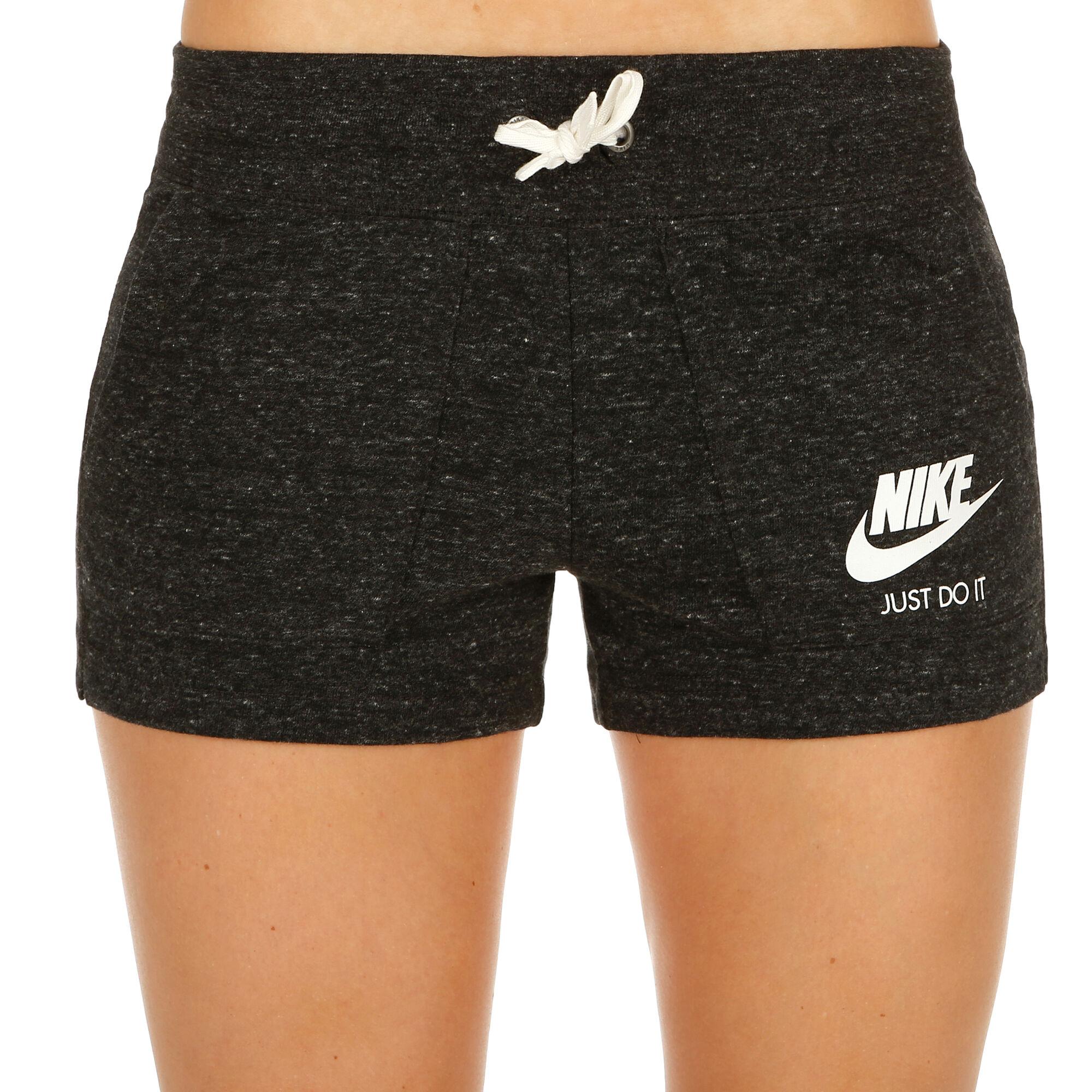 buy Nike Sportswear Gym Vintage Shorts Women - Black dd3b84a47