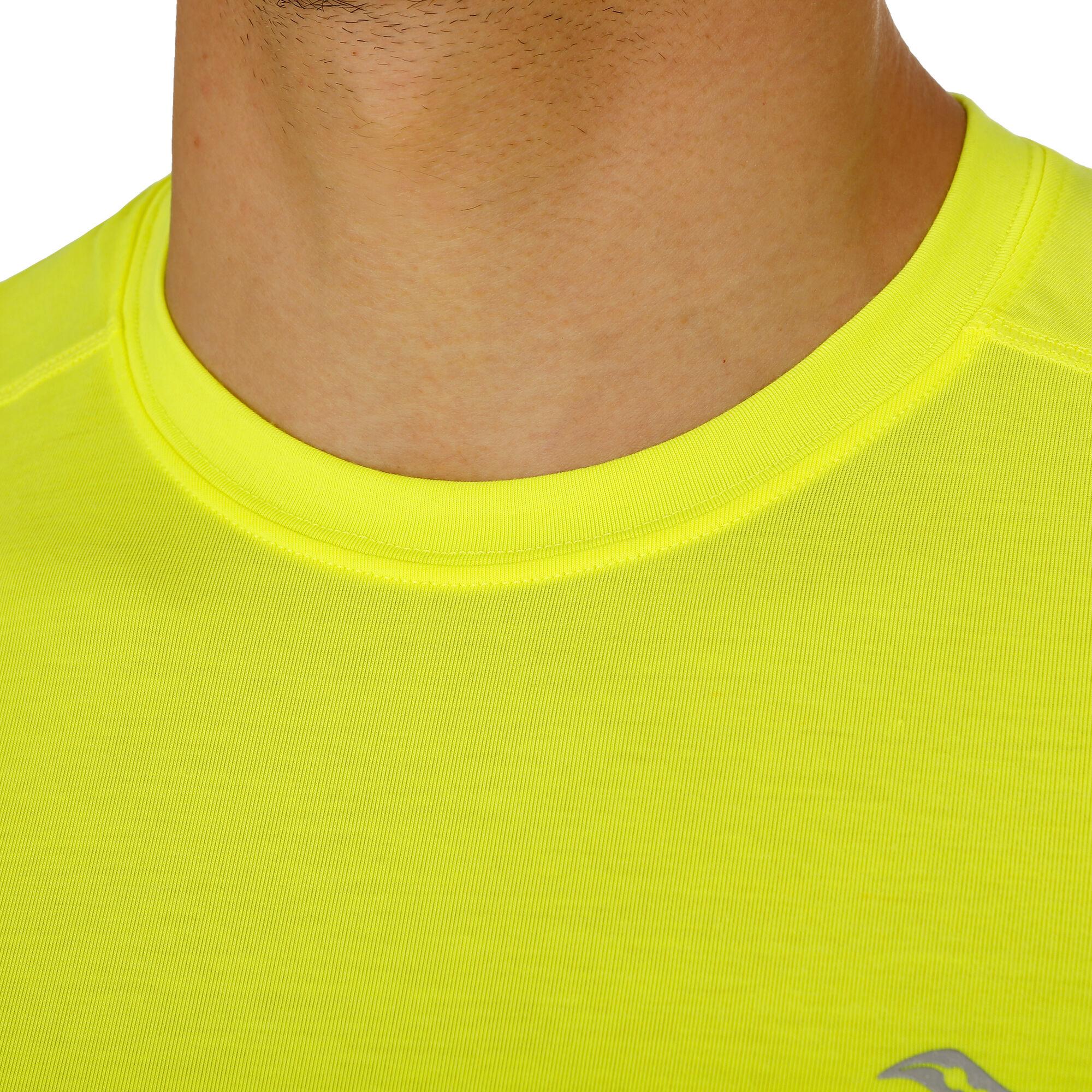 51fe4598 buy Saucony Freedom Long Sleeve Men - Neon Yellow online   Jogging-Point