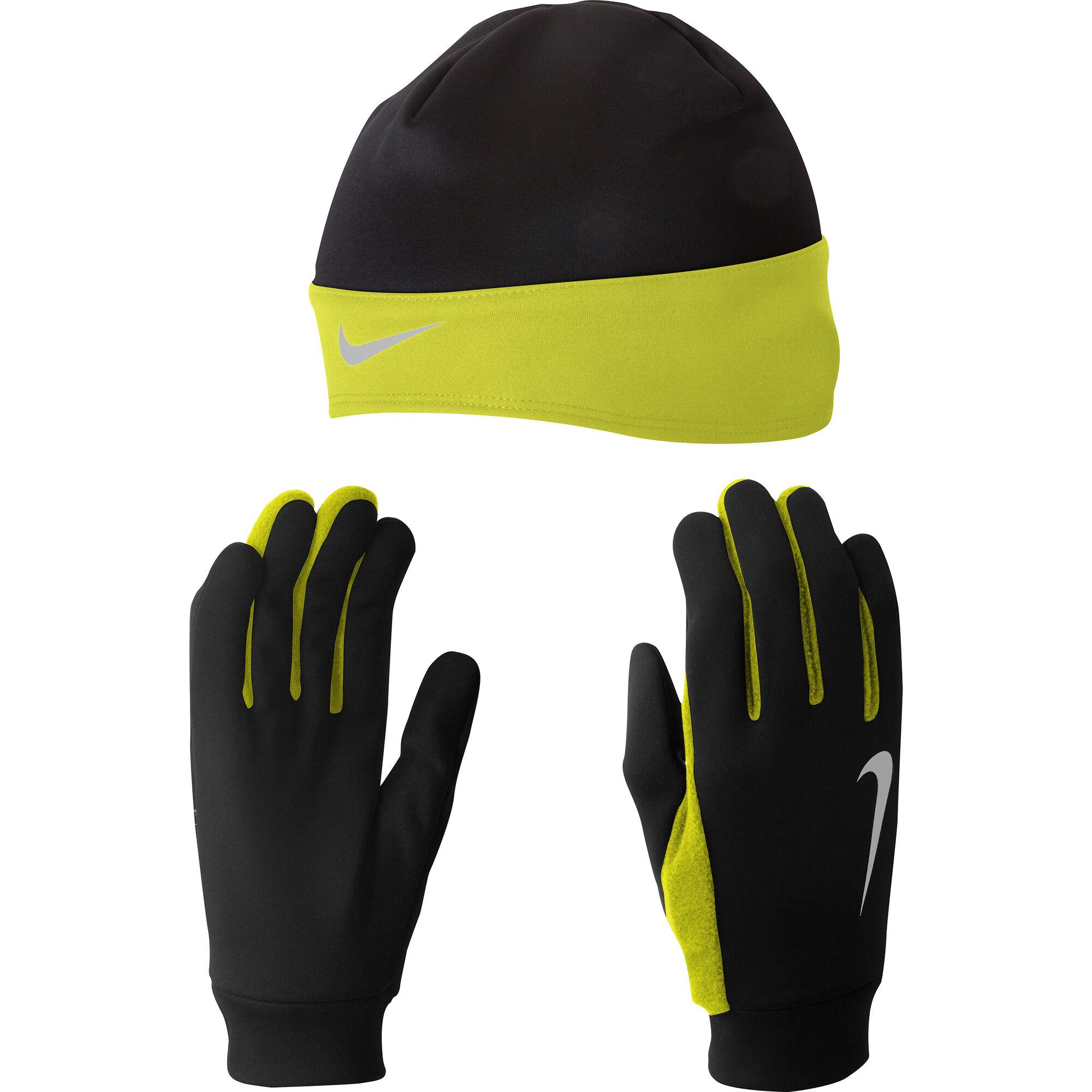 buy Nike Running Dri-Fit Glove Beanie Set Beanie Men - Black 37548a41b083