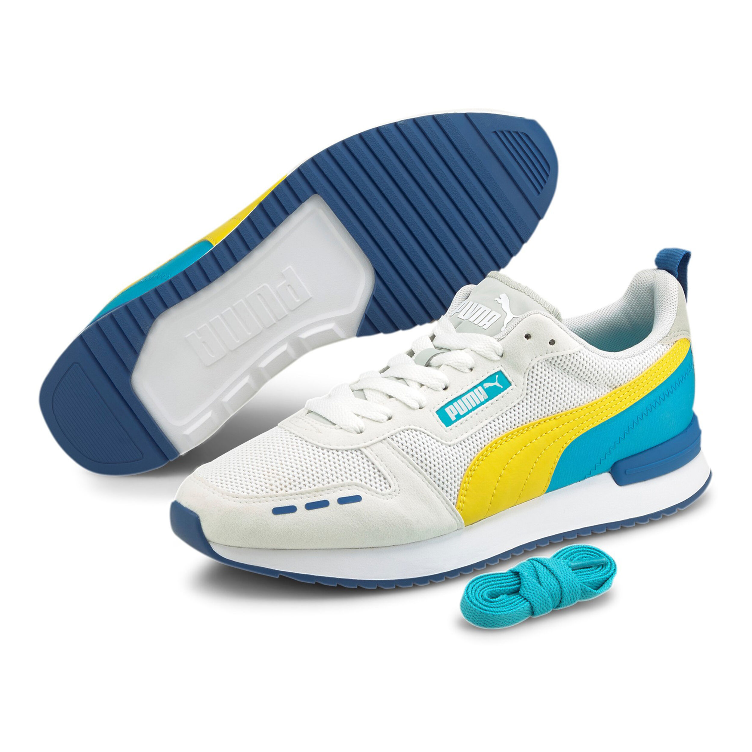 buy Puma R78 Sneakers Women - White, Yellow online   Jogging-Point