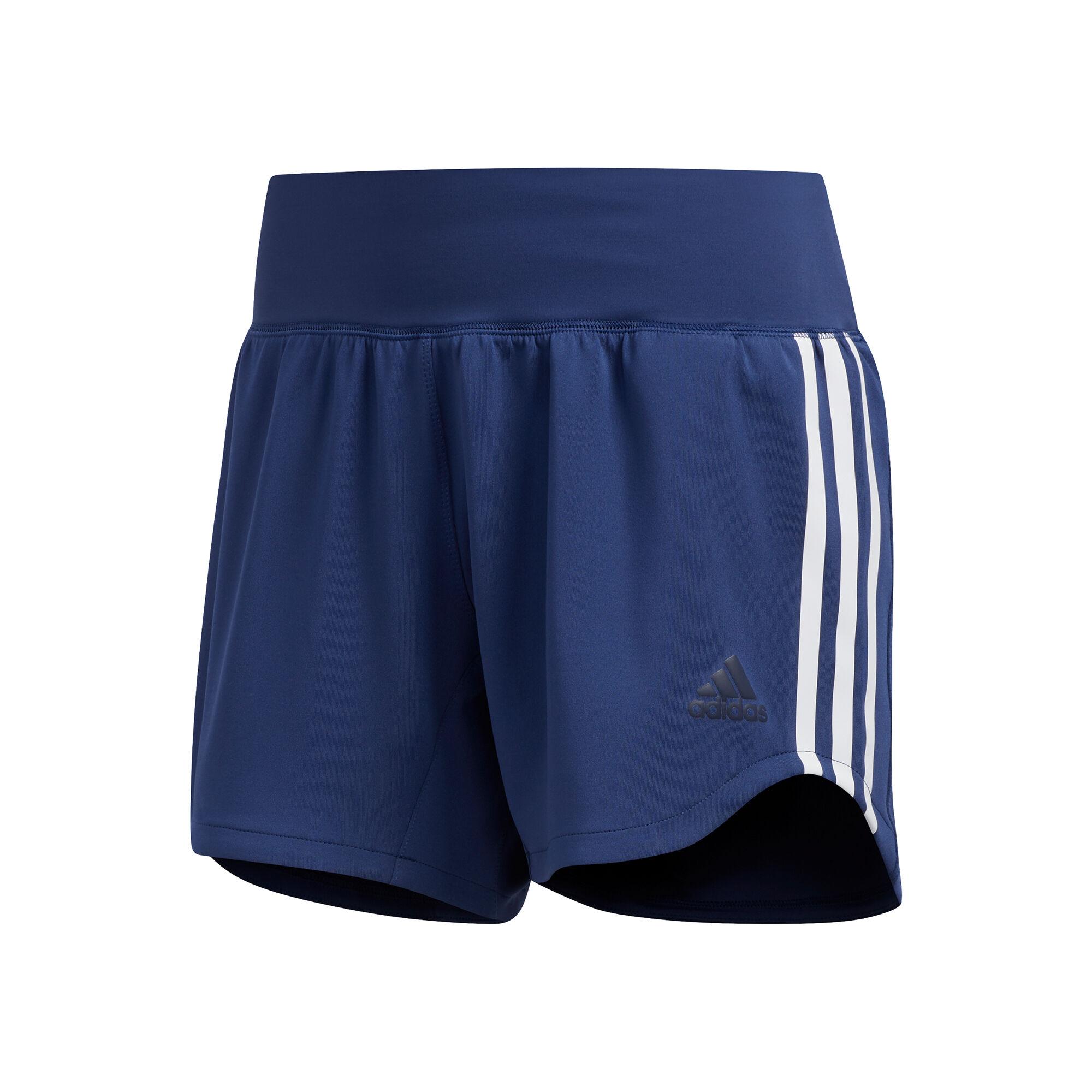 adidas 3-Stripes Woven Shorts Women - Blue, White