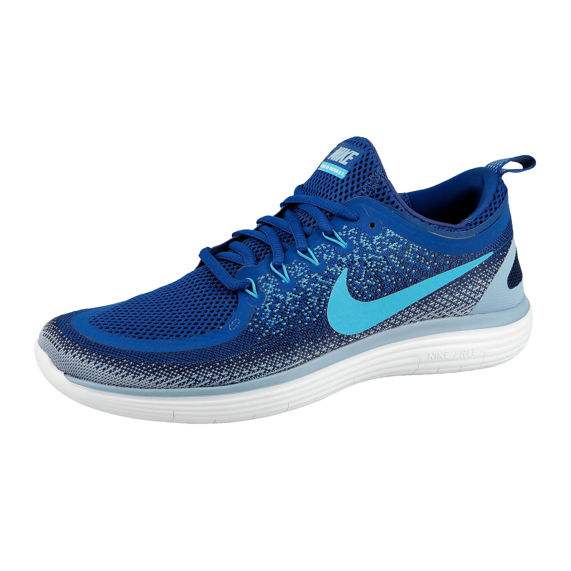 reputable site 571a0 bfdf6 Nike Free Run Distance 2 Natural Running Shoe Men - Blue, Light Blue