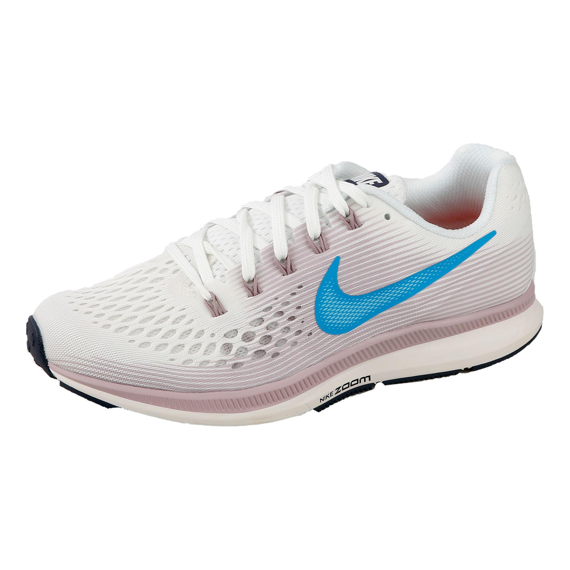 promo code 9d8d8 17916 Nike Air Zoom Pegasus 34 Neutral Running Shoe Women - White, Light Blue