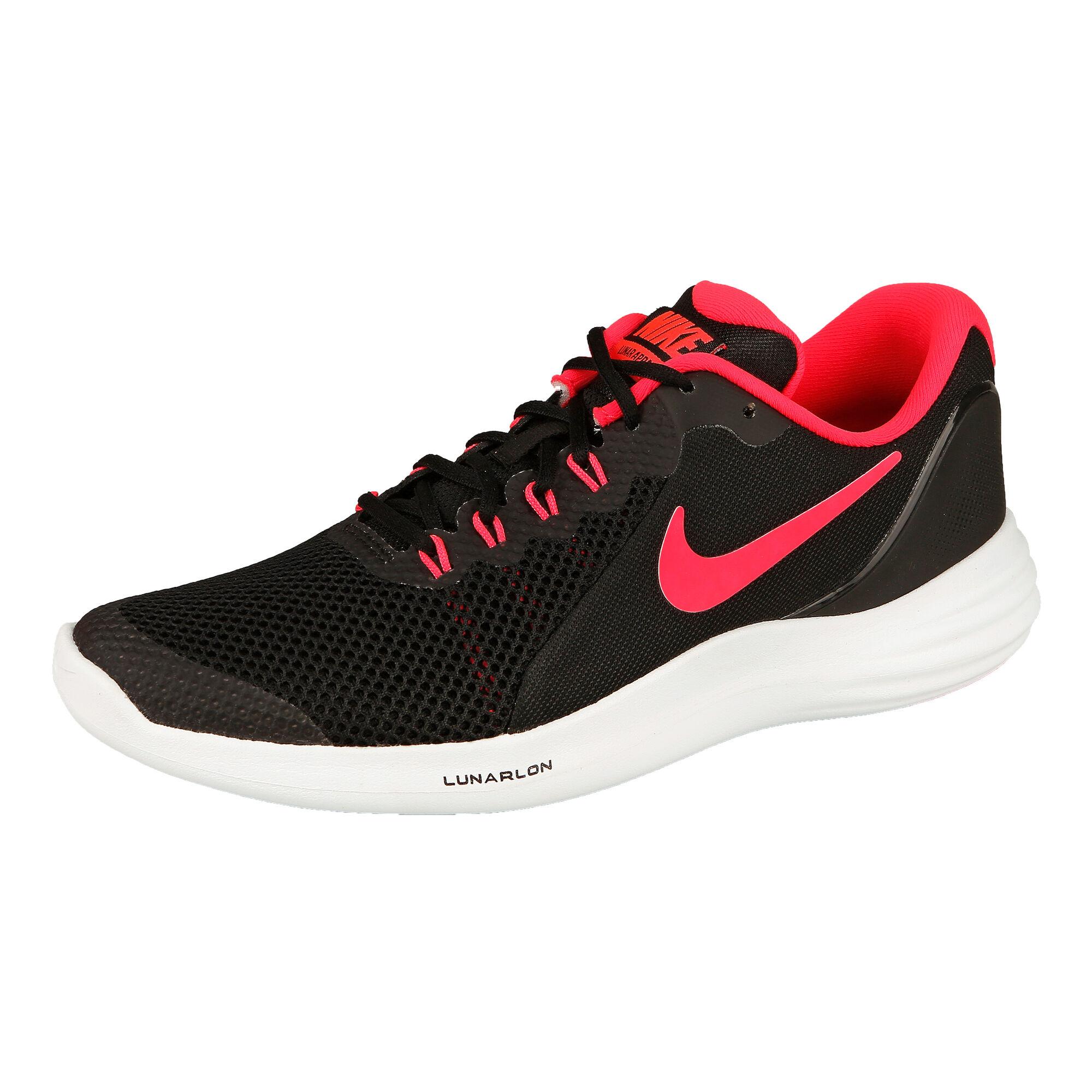 promo code dee6d dc337 Nike Lunar Apparent Neutral Running Shoe Kids - Black, Pink