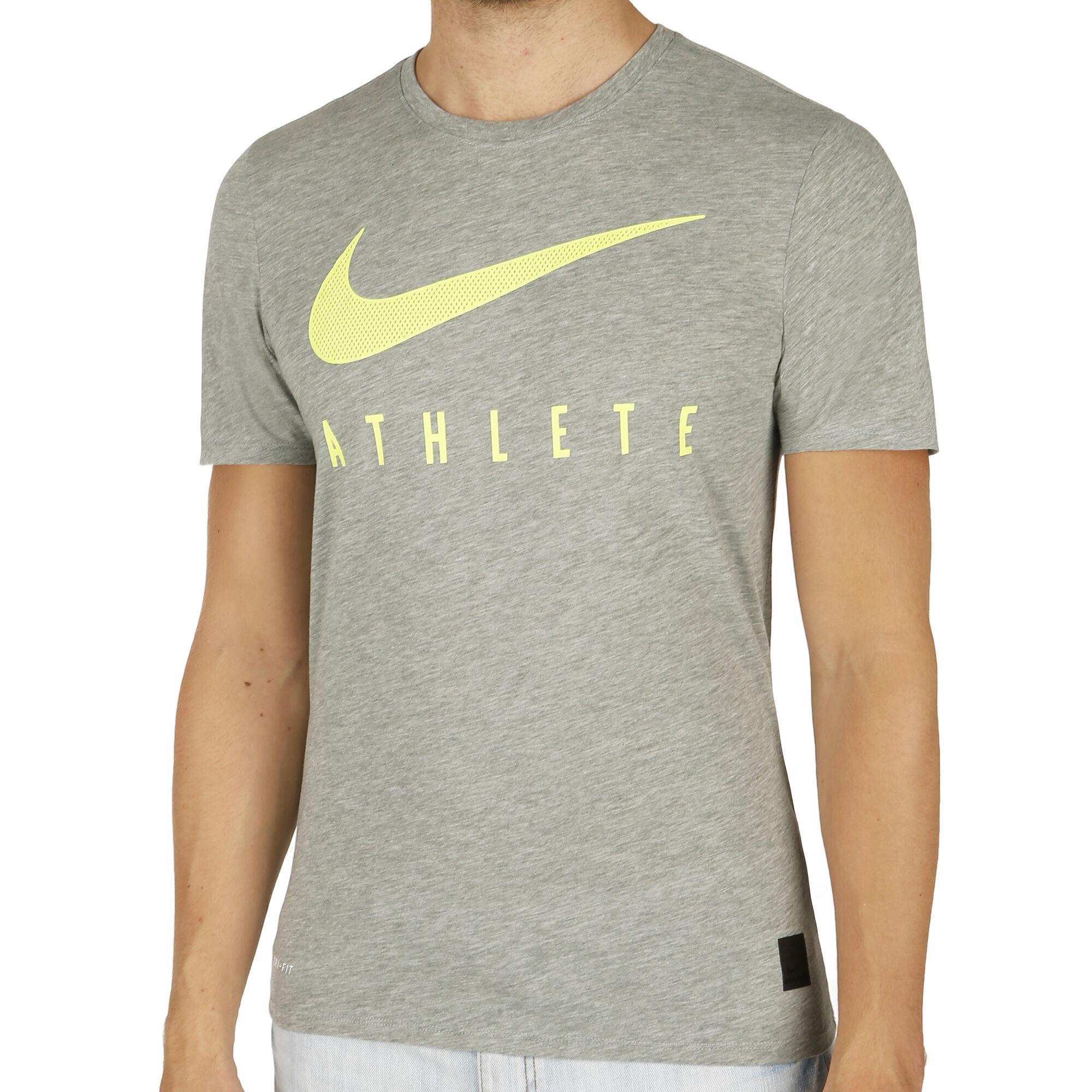 2b4a1c0499852 Nike; Nike; Nike; Nike; Nike; Nike; Nike. Dri-Blend Mesh Swoosh Athlete  Training T-Shirt Men ...