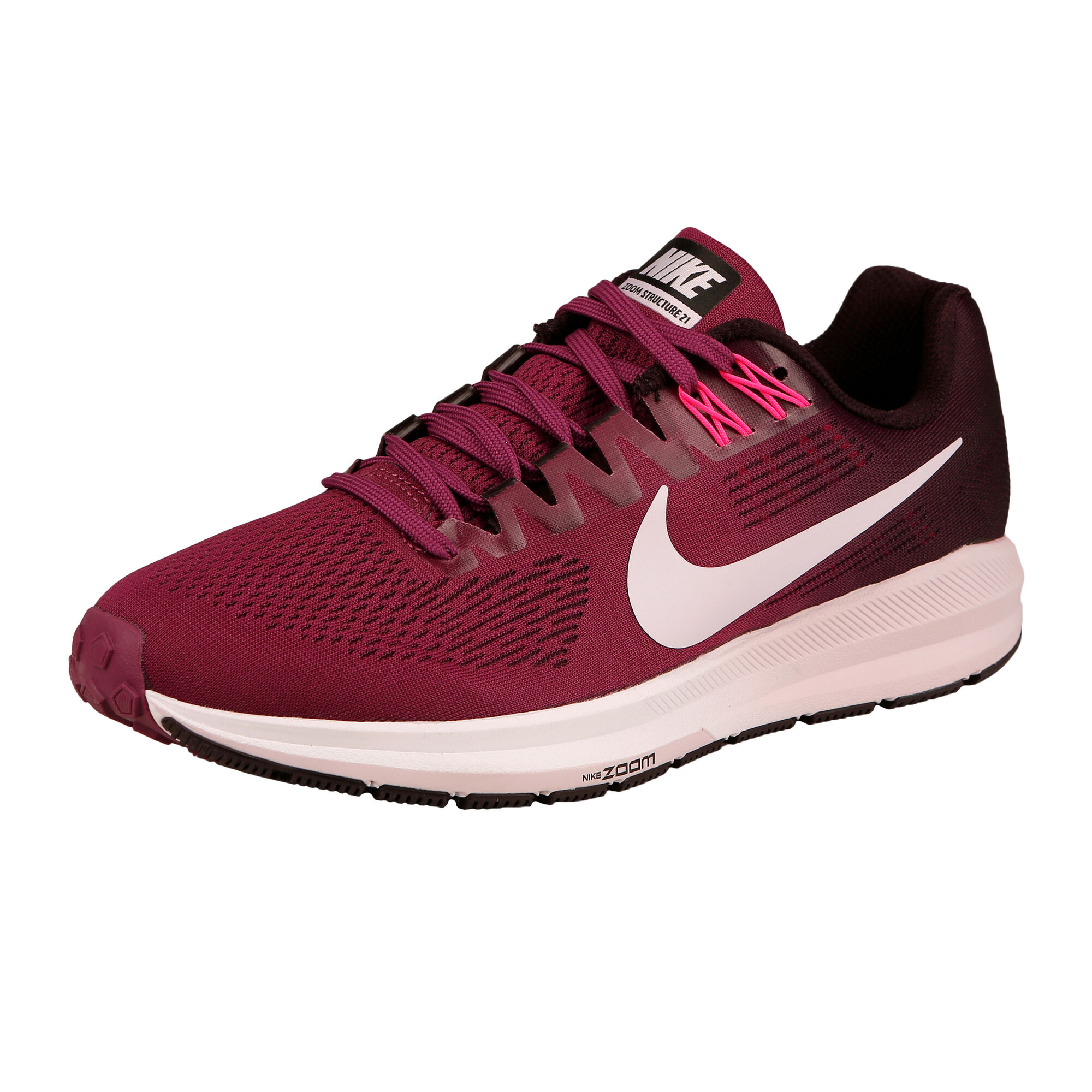 d31d03ae28c buy Nike Air Zoom Structure 21 Stability Running Shoe Women - Dark ...