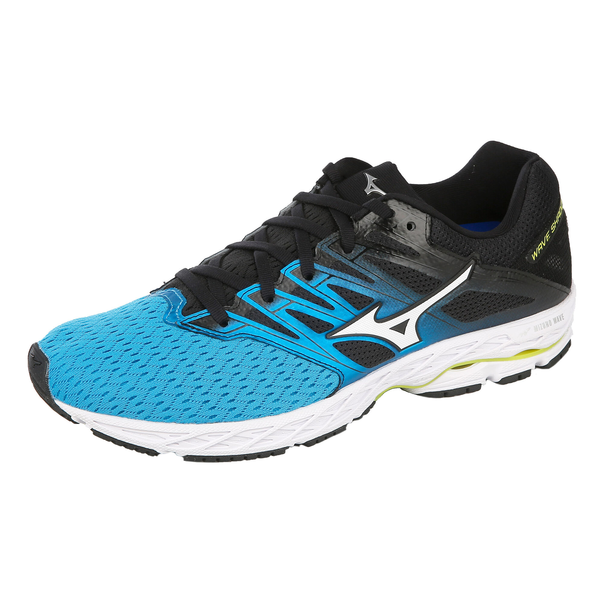 watch 26a42 97ce7 Mizuno Wave Shadow 2 Competition Running Shoe Men - Blue, Black