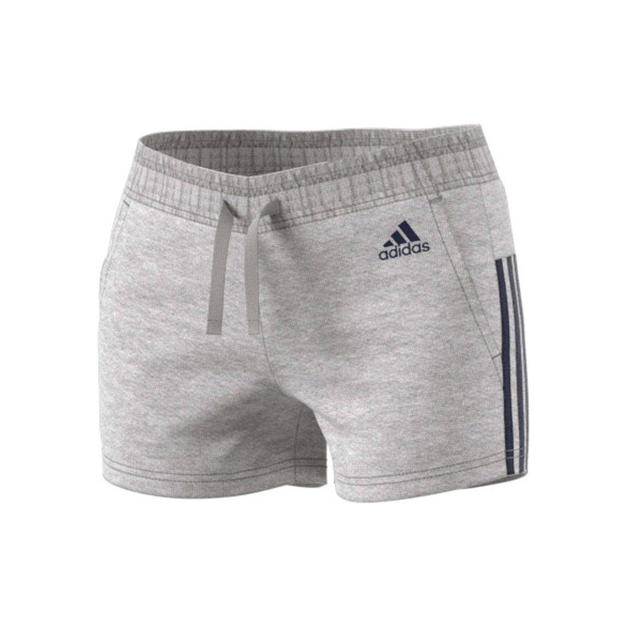 ae82ff7931 buy adidas Essentials 3 Stripes Shorts Women - Lightgrey