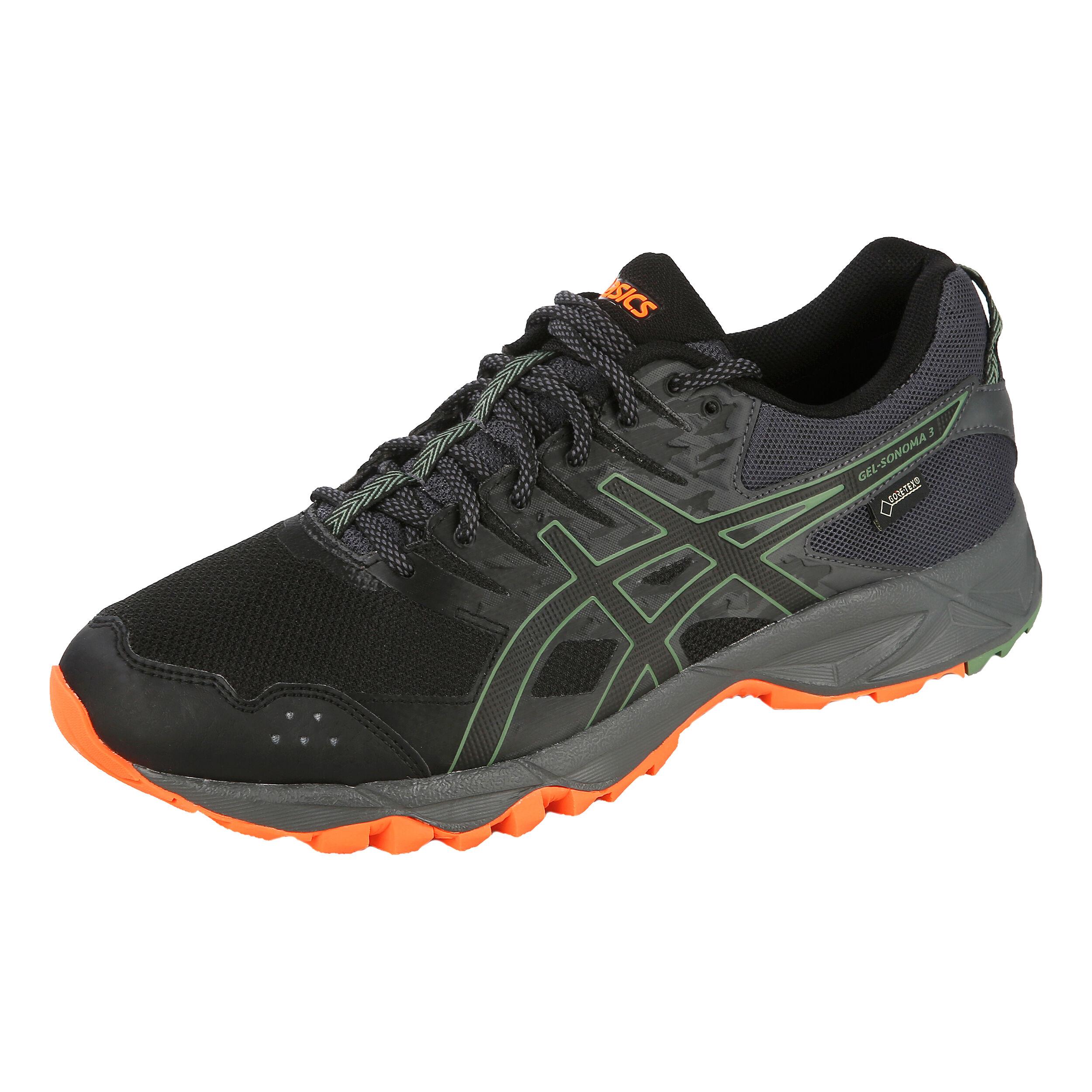 asics gel sonoma 3 gore-tex trail running shoes