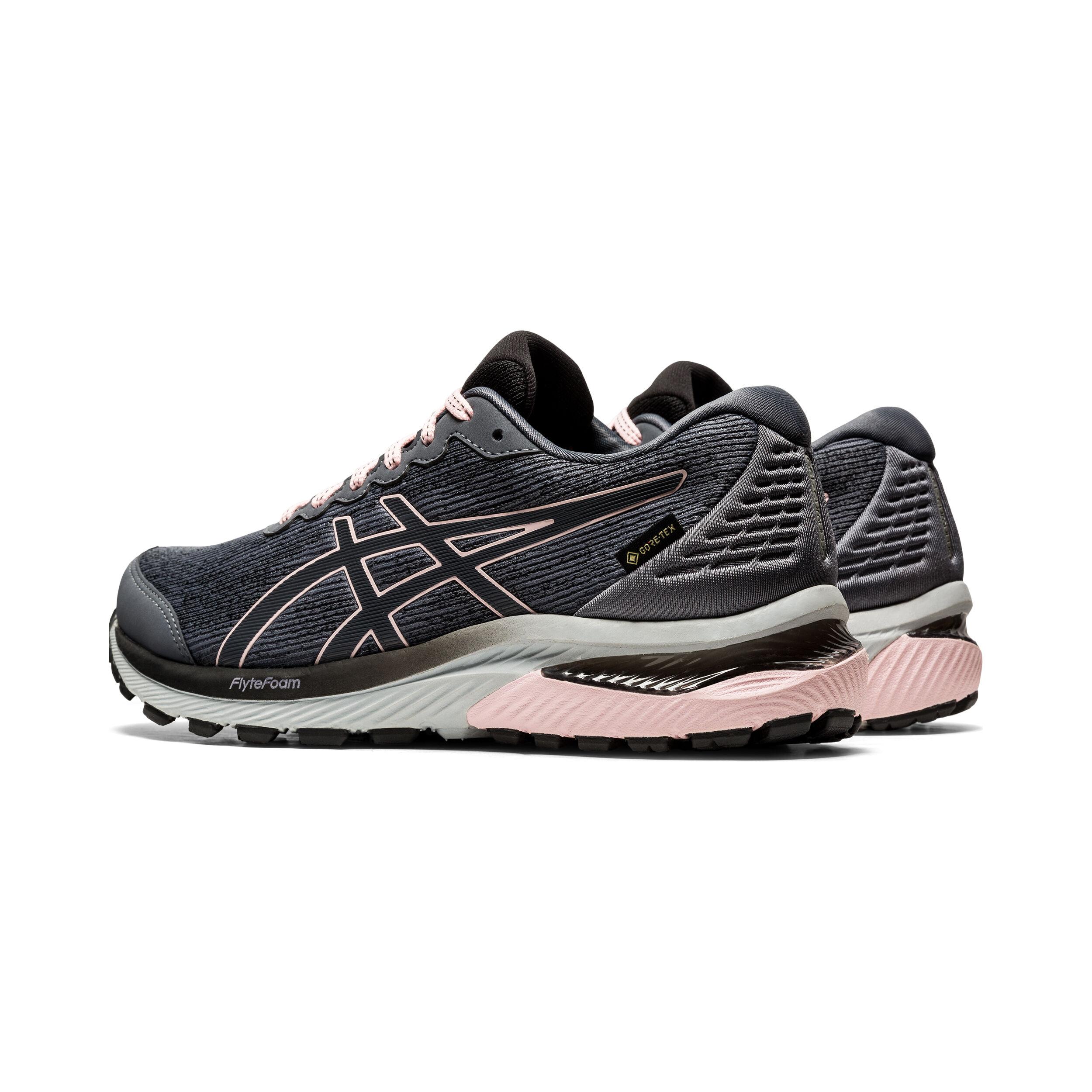 buy Asics Gel-Cumulus 22 GTX Trail Running Shoe Women - Grey, Pink ...