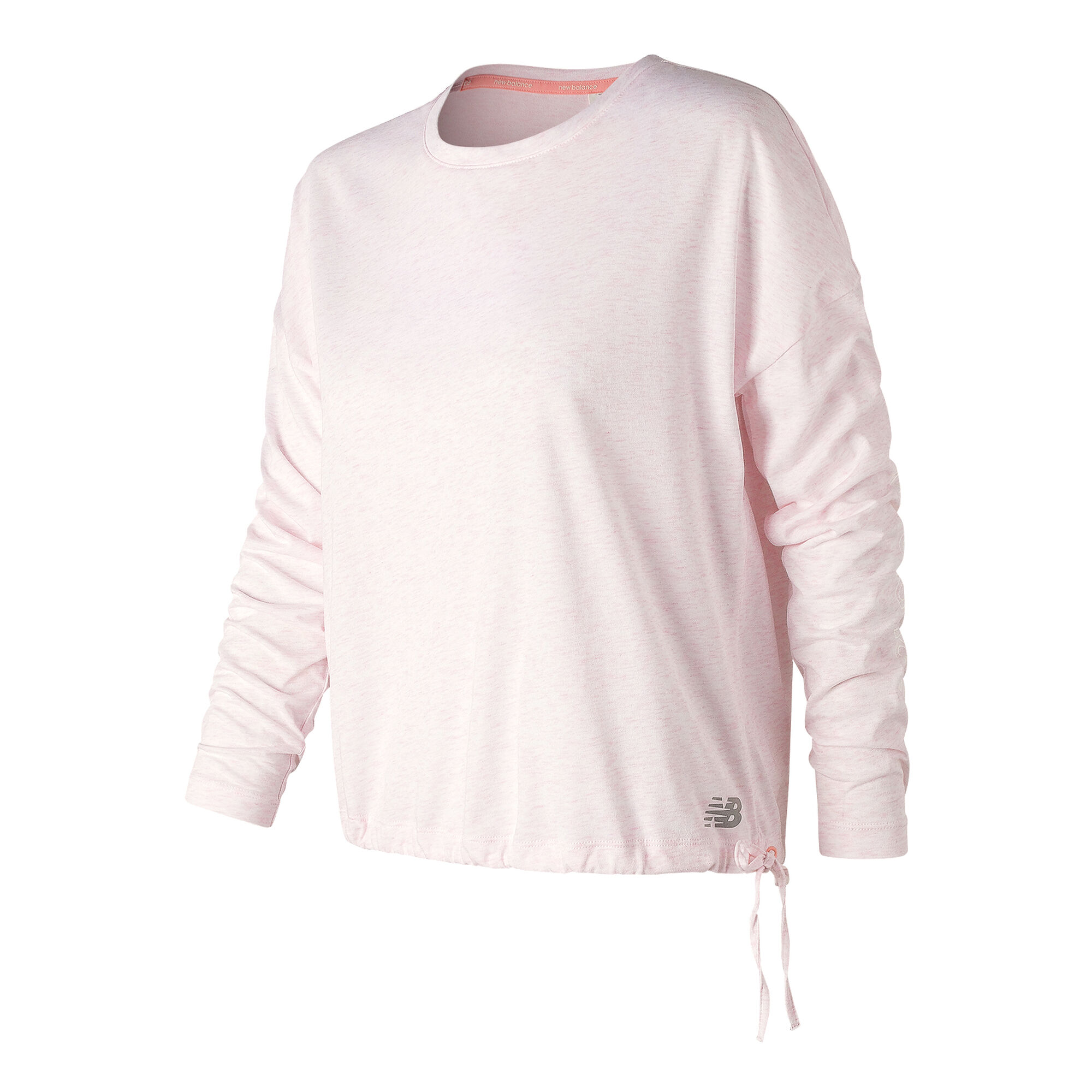 2f39893c6d9d7 buy New Balance Heather Tech Long Sleeve Women - Pink, Silver online ...