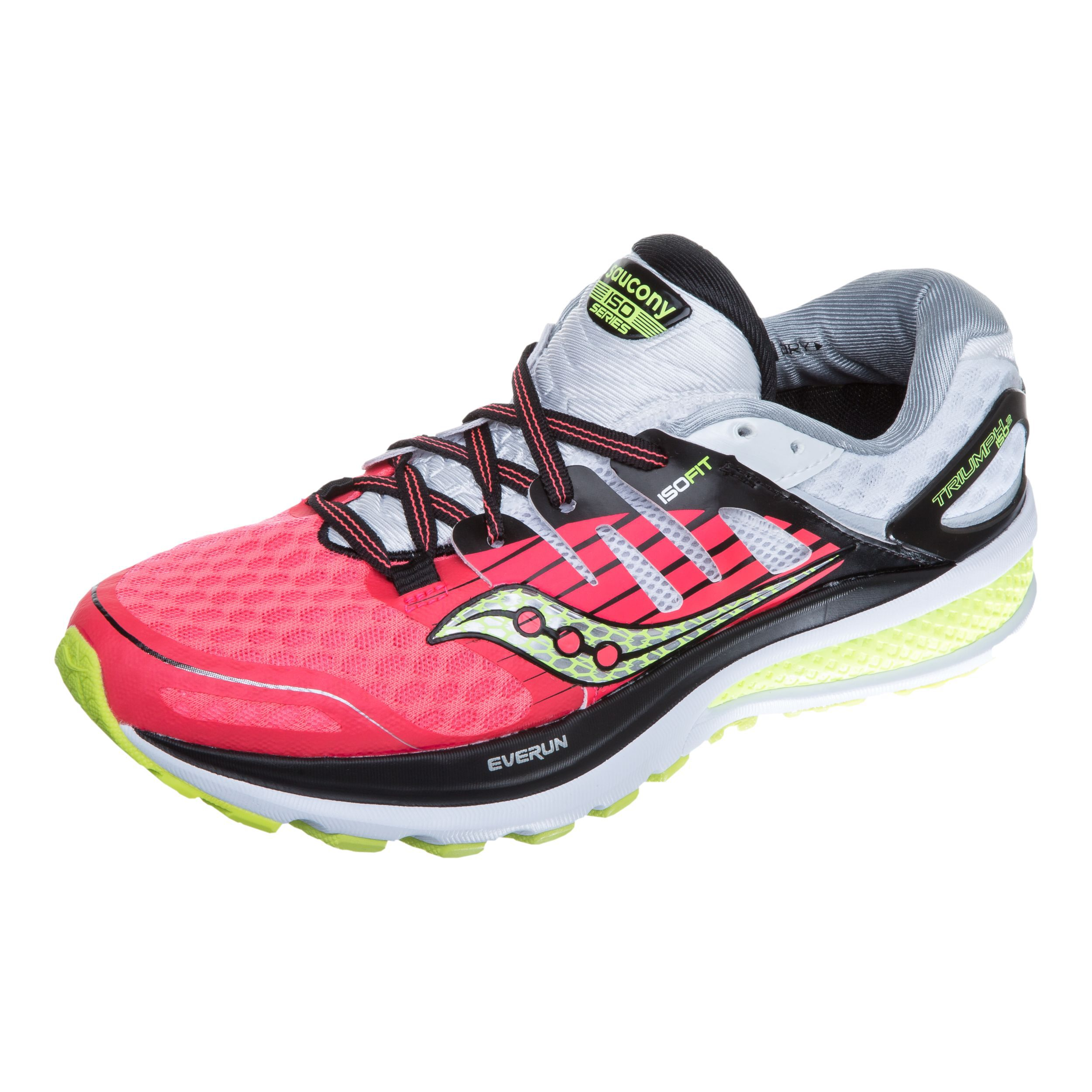 Saucony Triumph ISO 2 Cross Training Shoes in CoralSilver