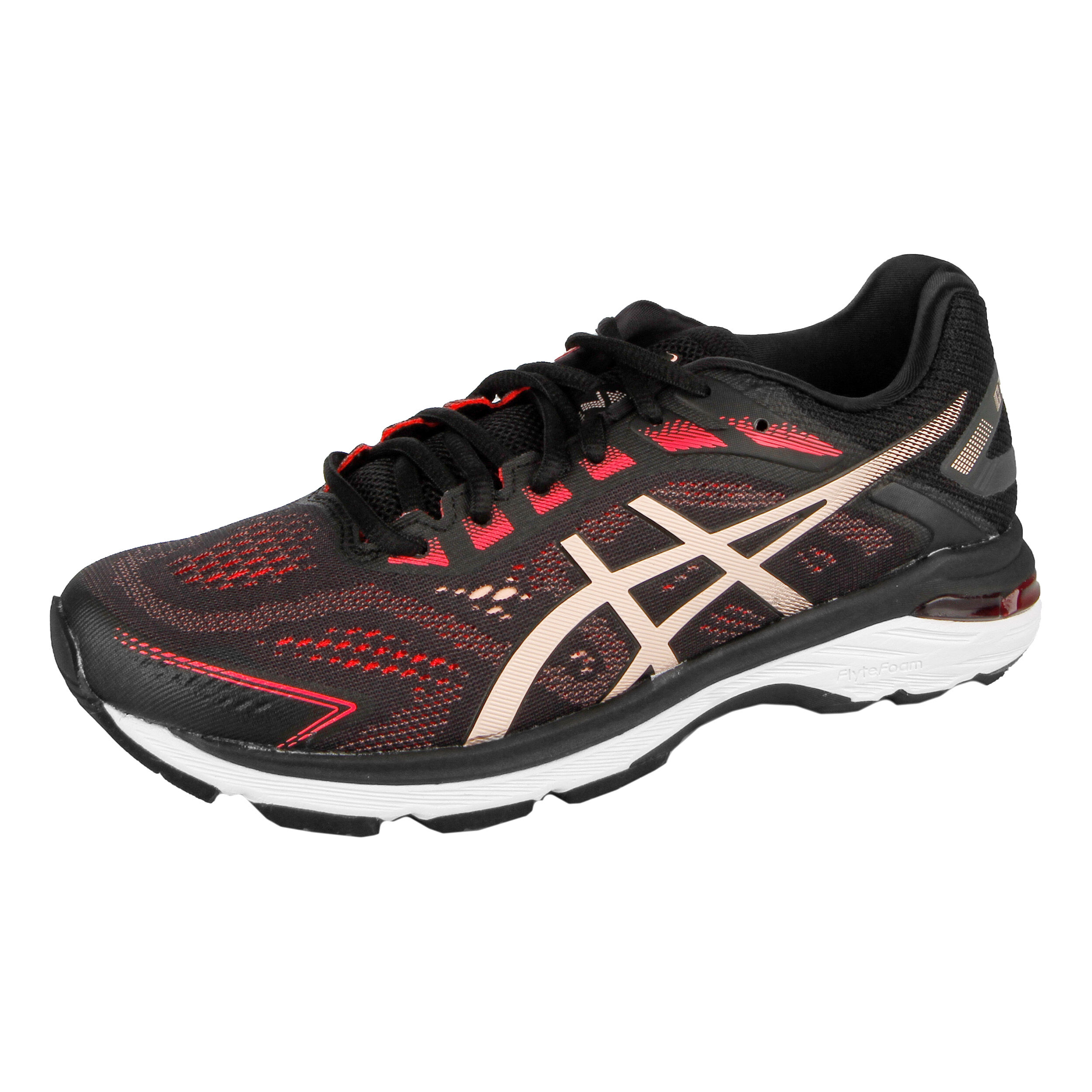 buy Asics GT-2000 7 Stability Running Shoe Women - Black ...
