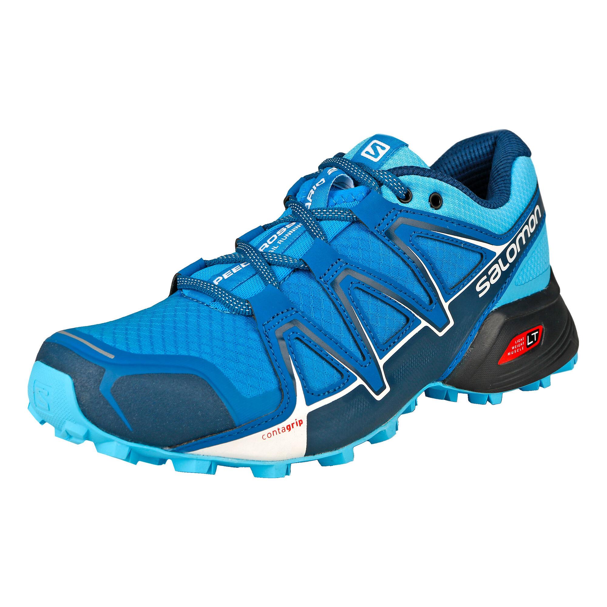 8e3f497b052f buy Salomon Speedcross Vario 2 Trail Running Shoe Women - Blue ...