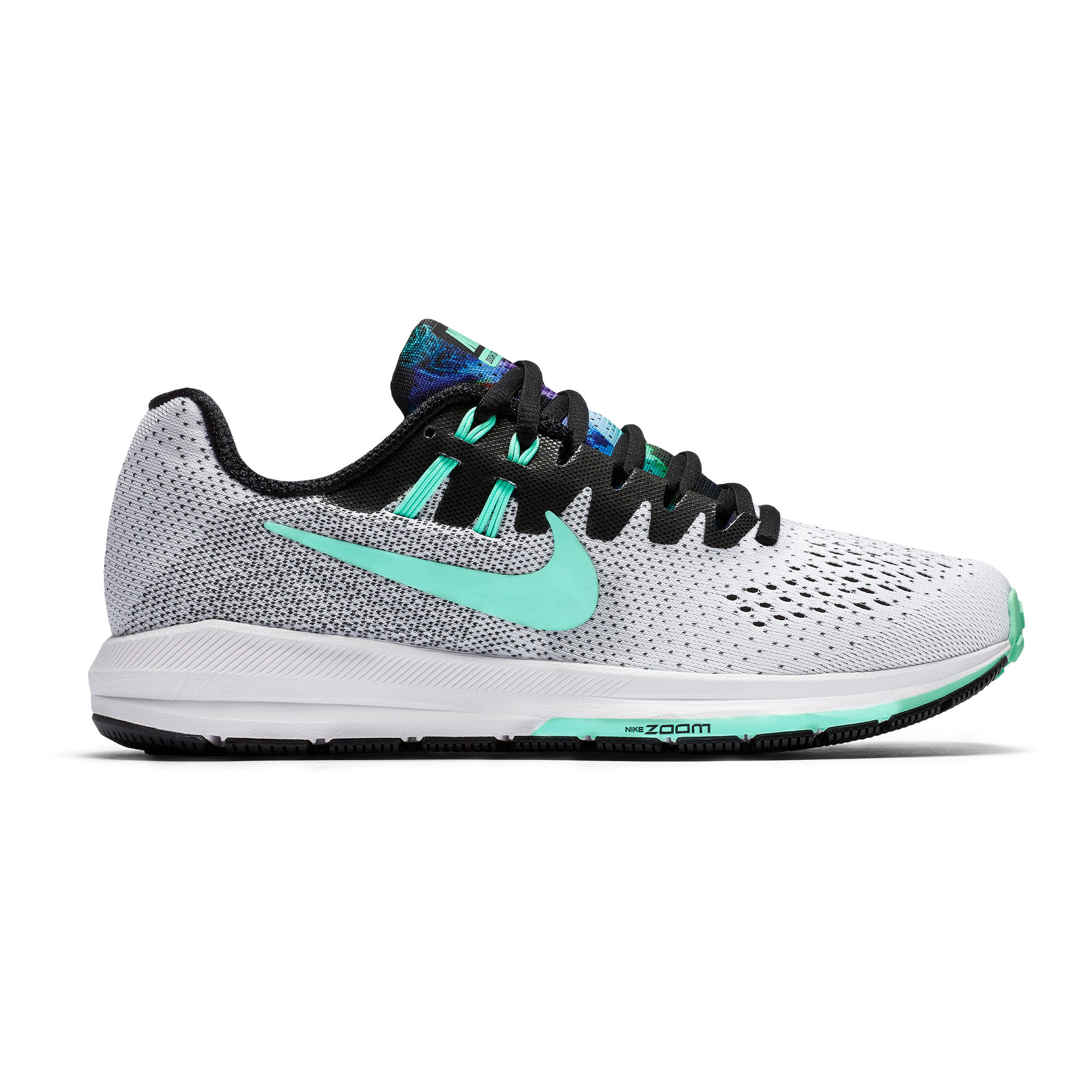 fusión fragancia Hobart  buy Nike Air Zoom Structure 20 Solstice Stability Running Shoe Women -  White, Mint online | Jogging-Point