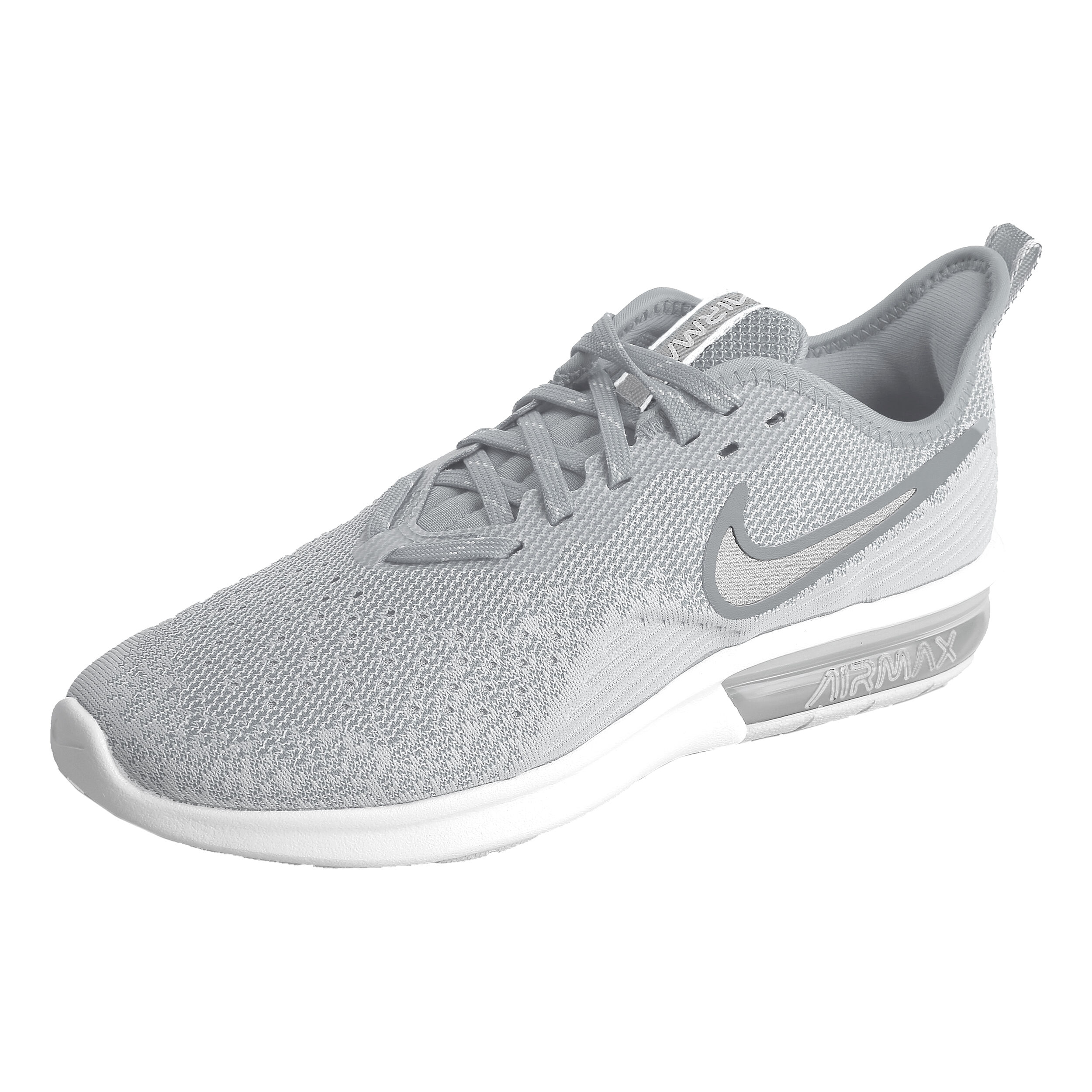 Nike Air Max Sequent 4 Neutral Running Shoe Men Lightgrey, White