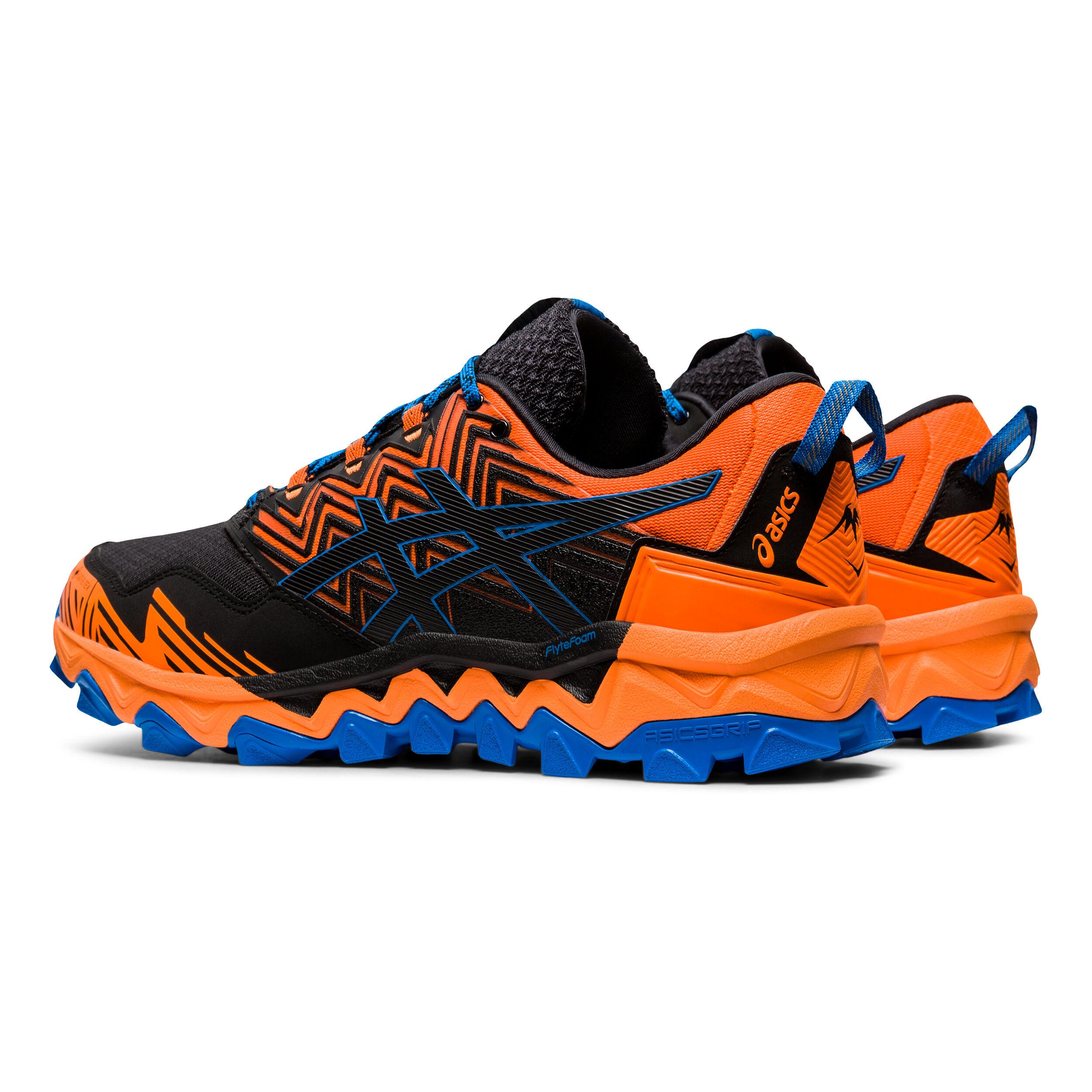 buy Asics Gel-Fuji Trabuco 8 G-TX Trail Running Shoe Men - Orange ...