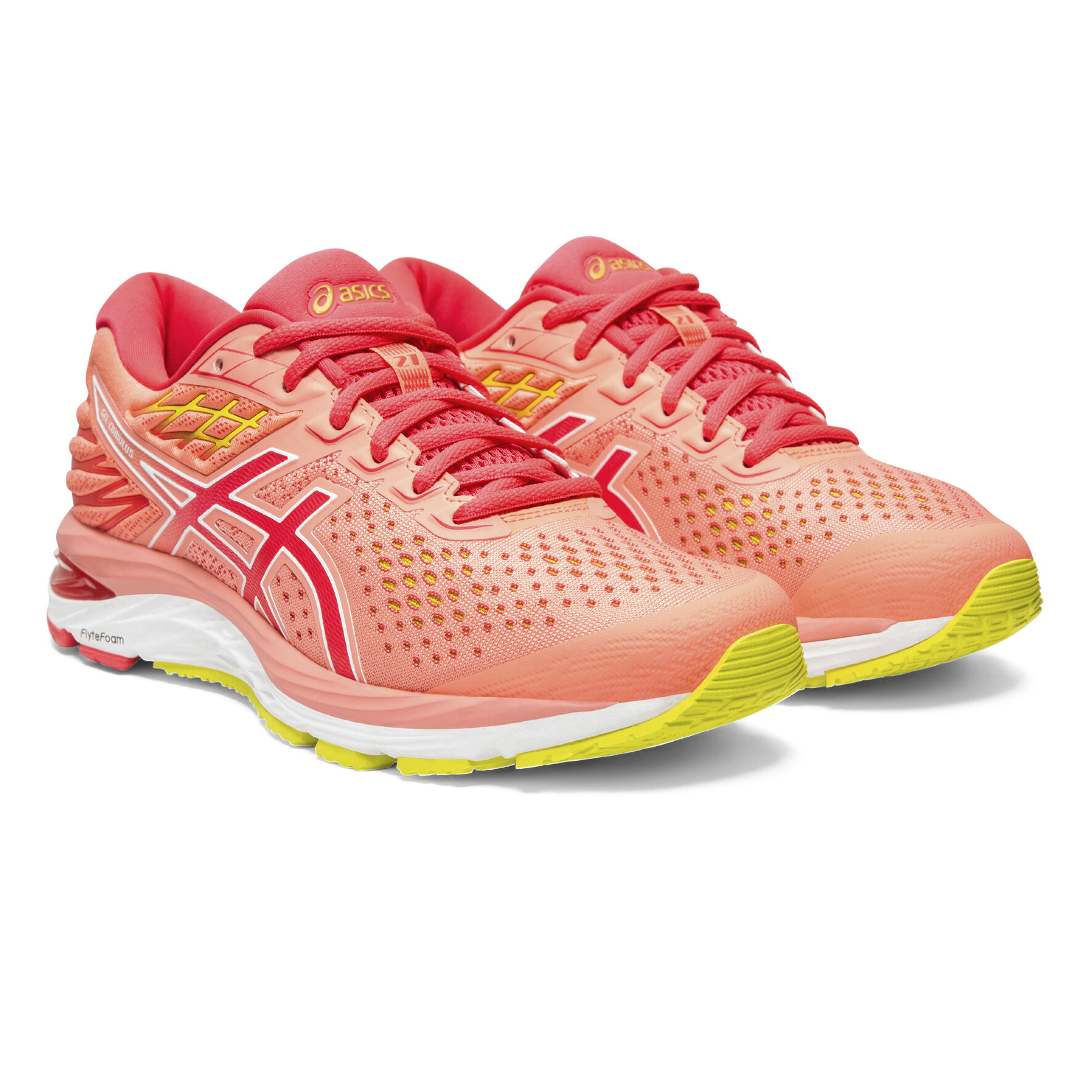 buy Asics Gel-Cumulus 21 Neutral Running Shoe Women - Coral ...