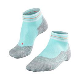 RU4 Check Short Socks Women