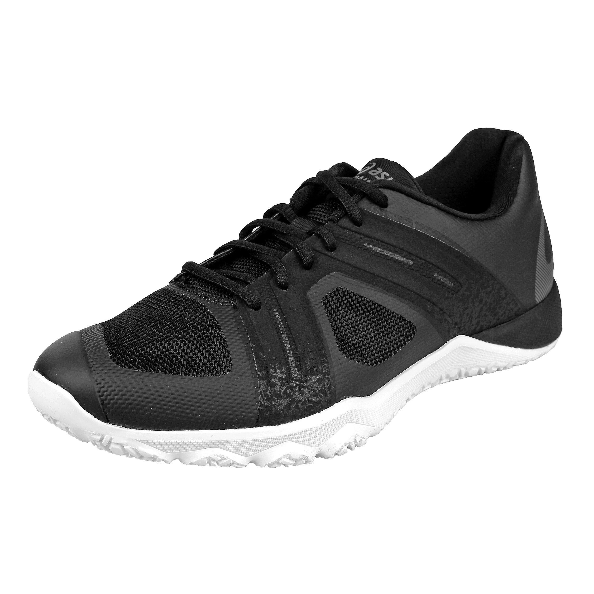 Asics Conviction X 2 Fitness Shoe Women Black, Dark Grey