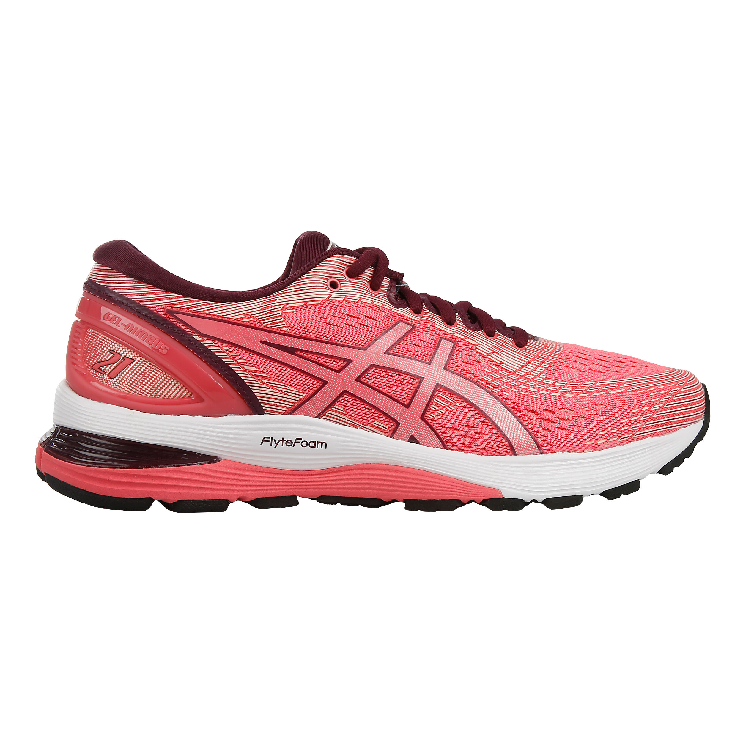Shoe Gel Buy Neutral Red 21 Women Running Asics Nimbus PinkDark 13KJcuT5lF