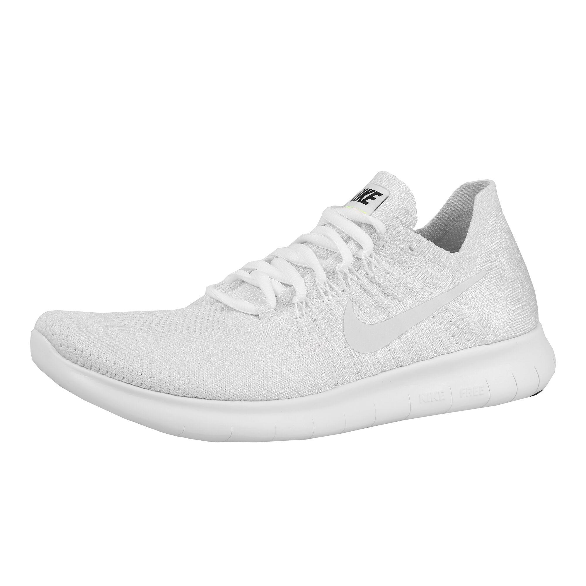16639bad buy Nike Free Run Flyknit 2017 Natural Running Shoe Women - White ...