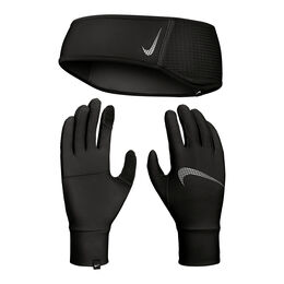 Essential Running Headband and Glove Set Women