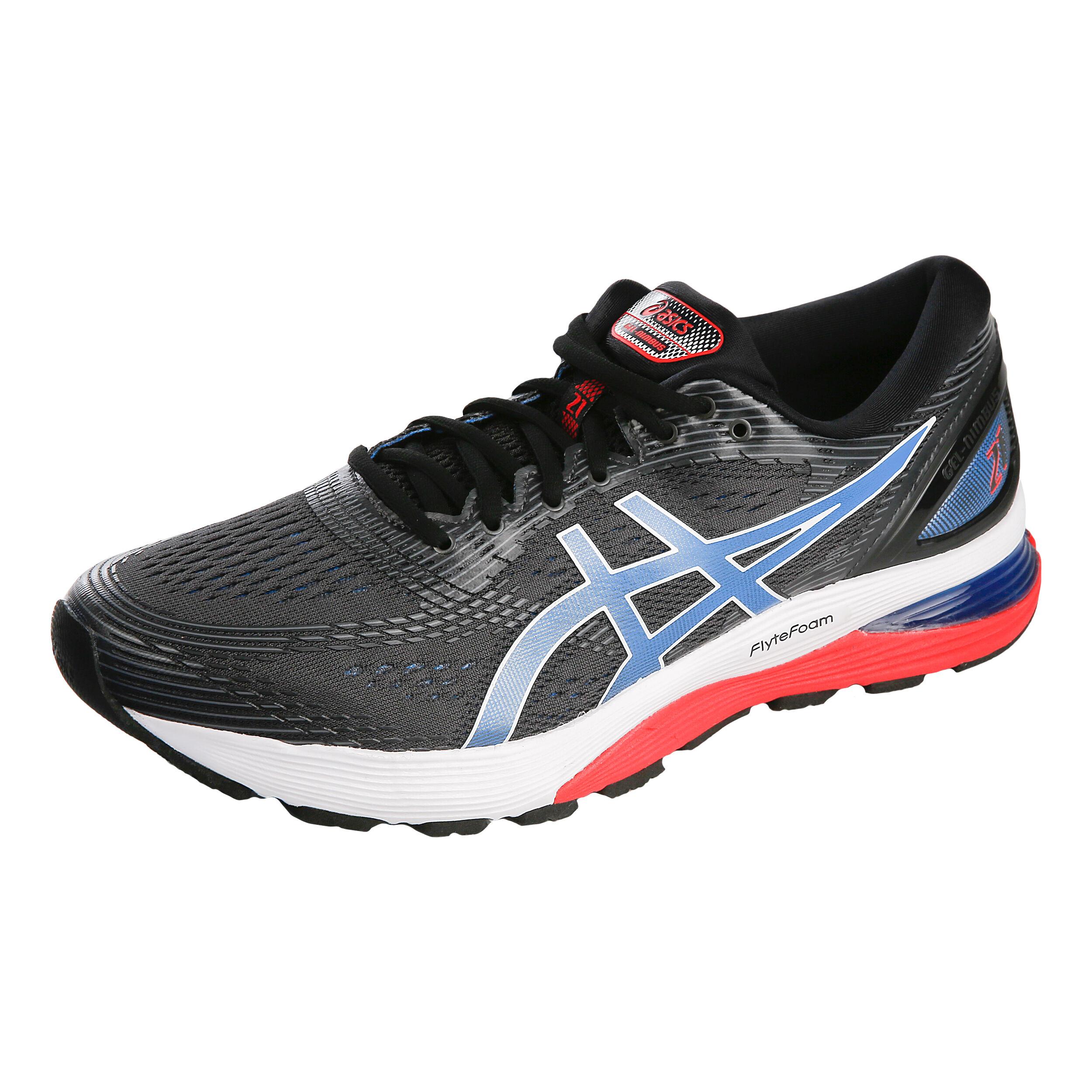 Gel Nimbus 21 Neutral Running Shoe Men Black, Blue