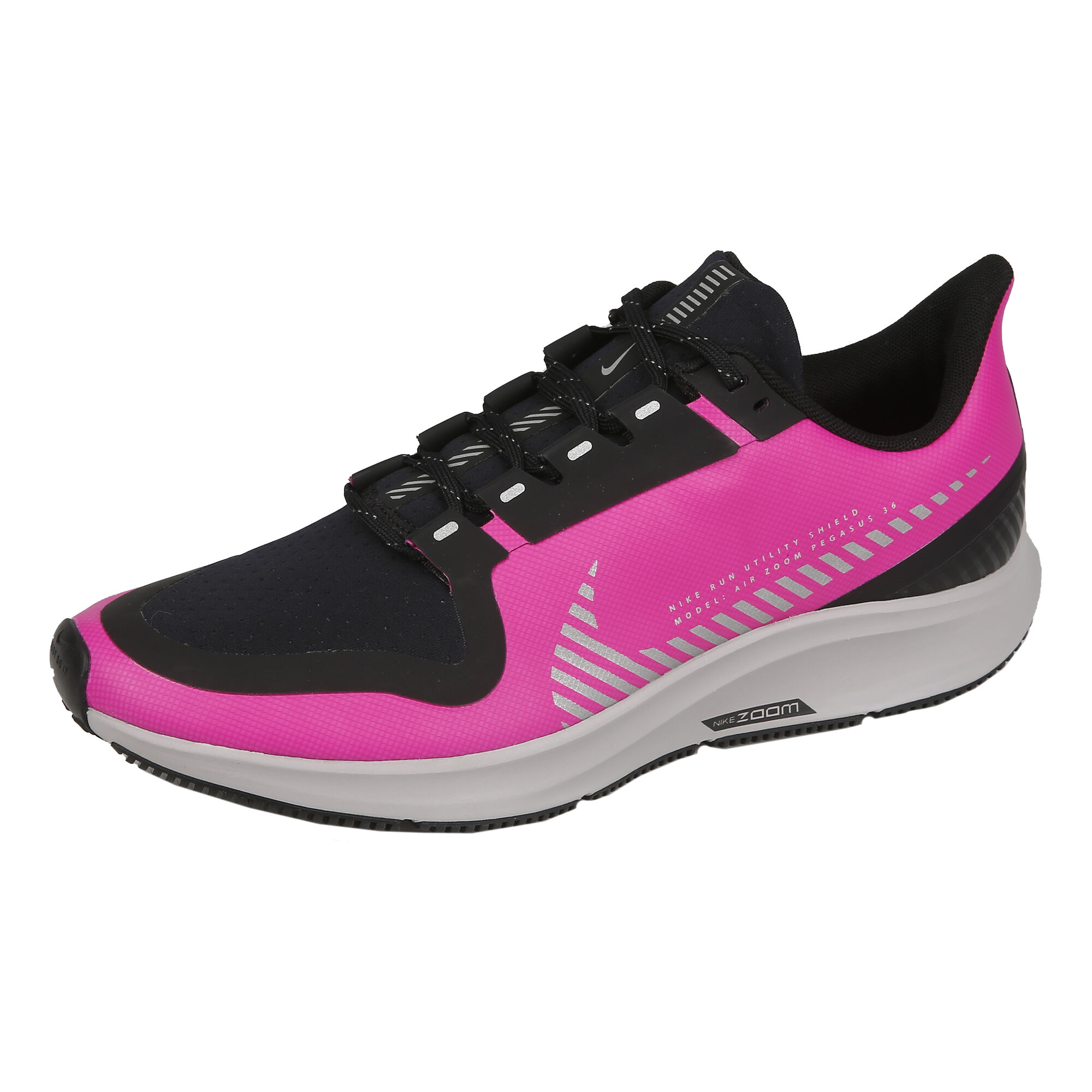nudo Anzai Se asemeja  buy Nike Air Zoom Pegasus 36 Shield Neutral Running Shoe Women - Pink,  Black online | Jogging-Point