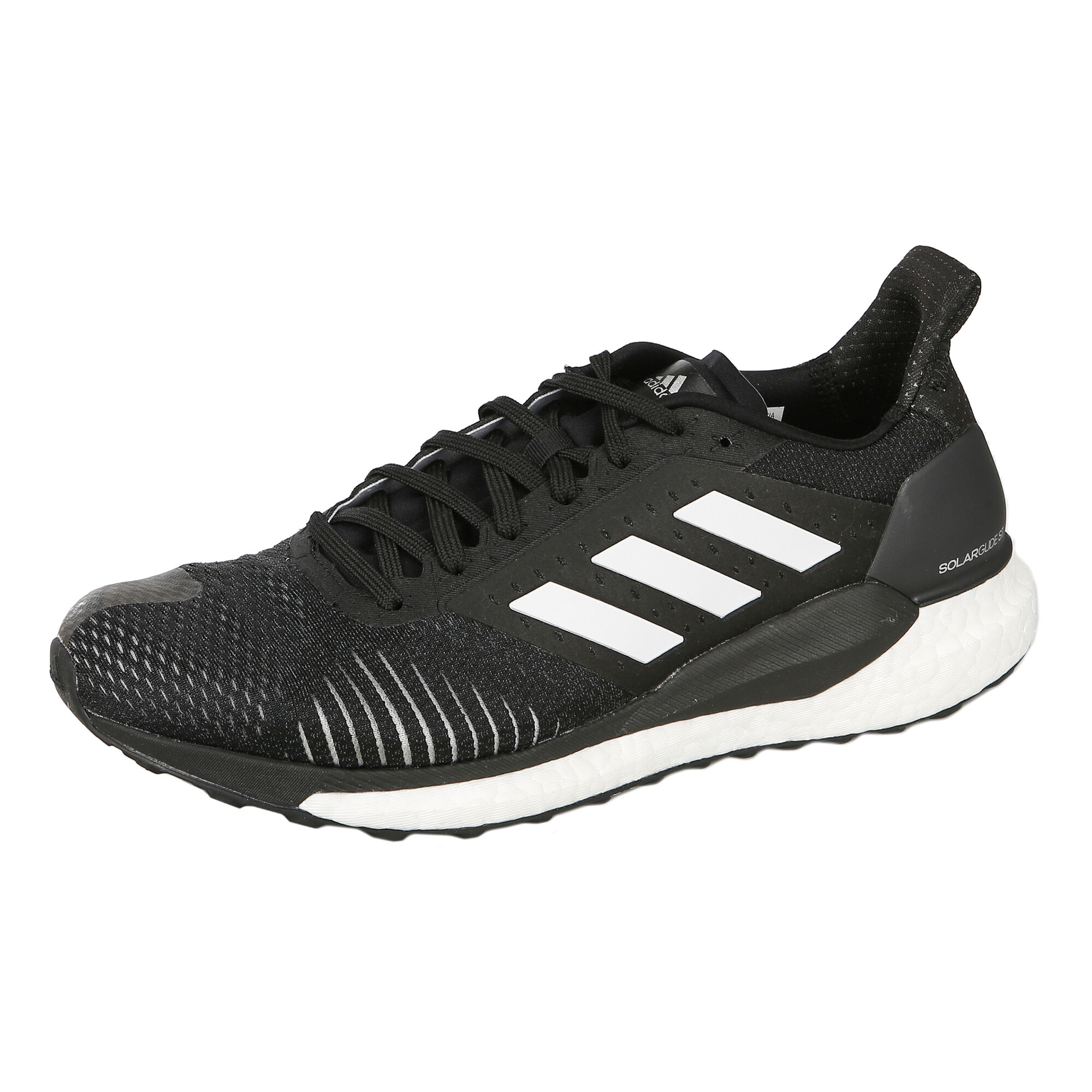 online store 7f37f d863a adidas Solar Glide ST Stability Running Shoe Men - Black, Blue