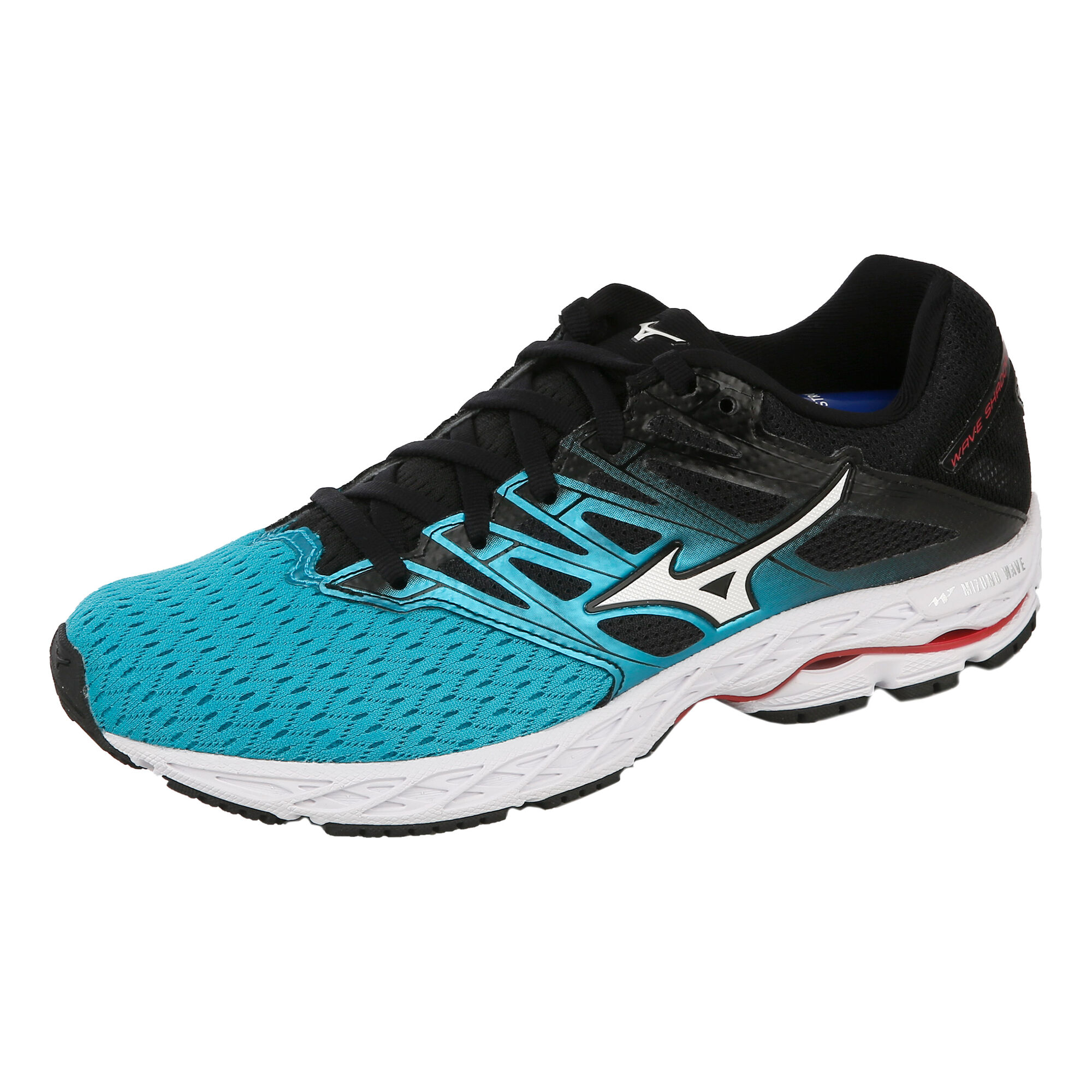 brand new 7dada 98223 Mizuno Wave Shadow 2 Competition Running Shoe Women - Mint, Black