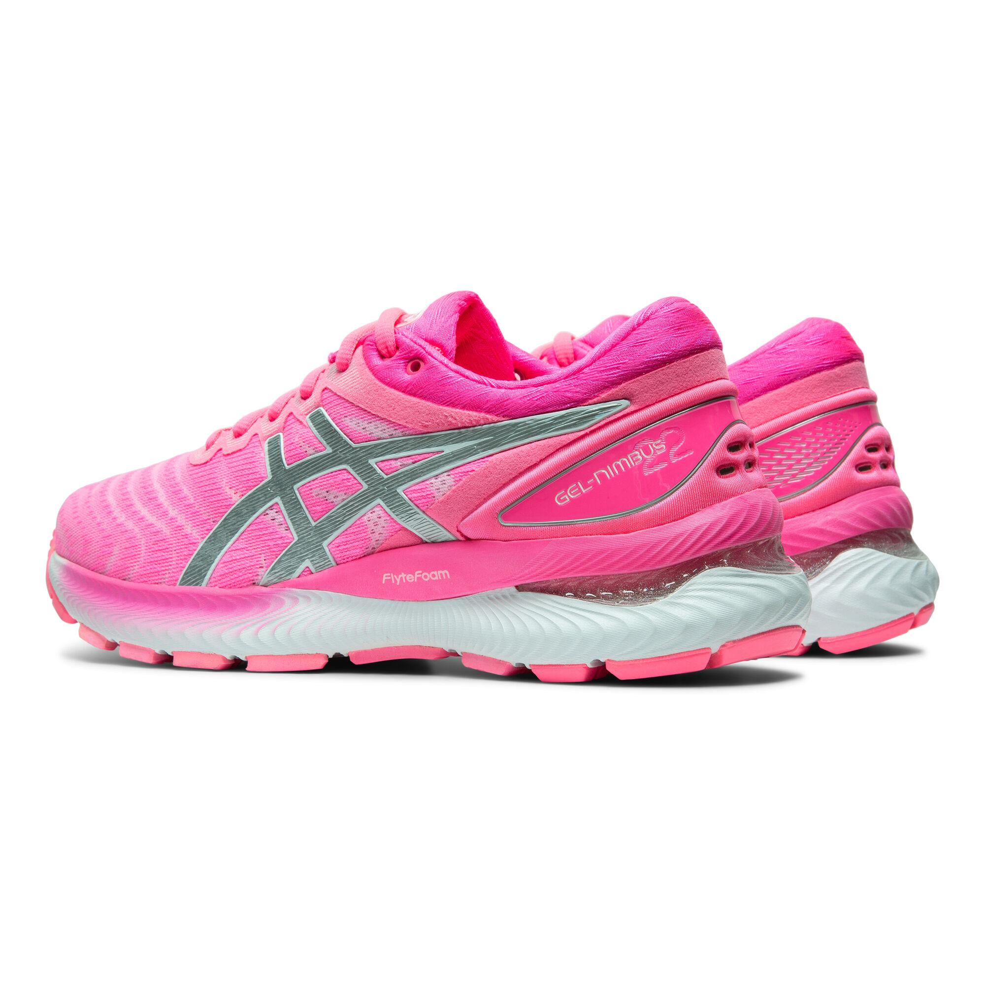 Assistere accento gettare fumo negli occhi  buy Asics Gel-Nimbus 22 Neutral Running Shoe Women - Pink, Silver online |  Jogging-Point