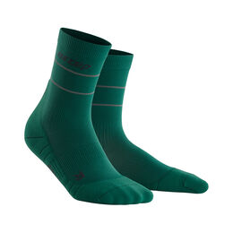 Reflective Mid-Cut Socks Men
