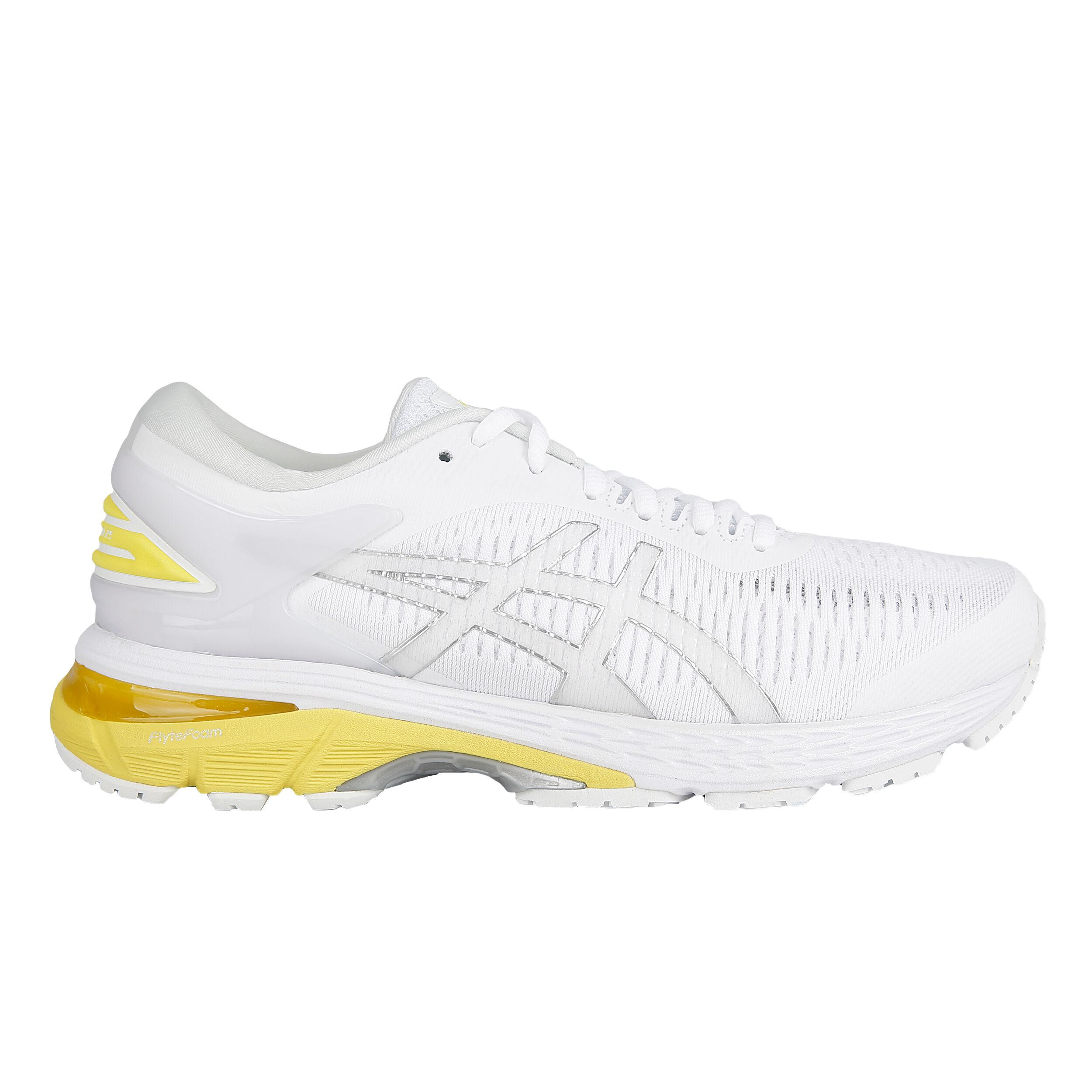 buy Asics Gel-Kayano 25 Stability Running Shoe Women - White ...
