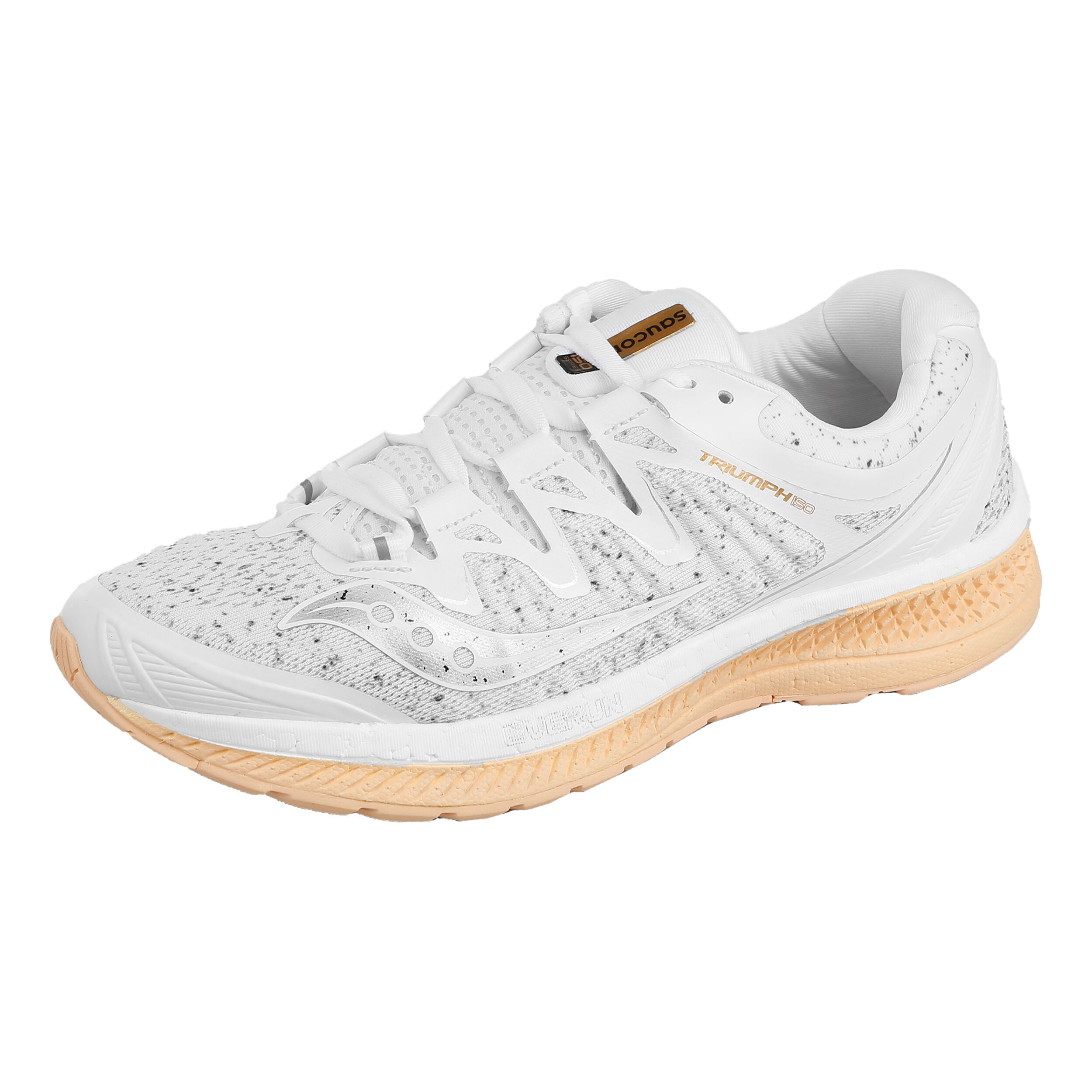 Buy Saucony Triumph Iso 4 Neutral Running Shoe (WhiteSilver