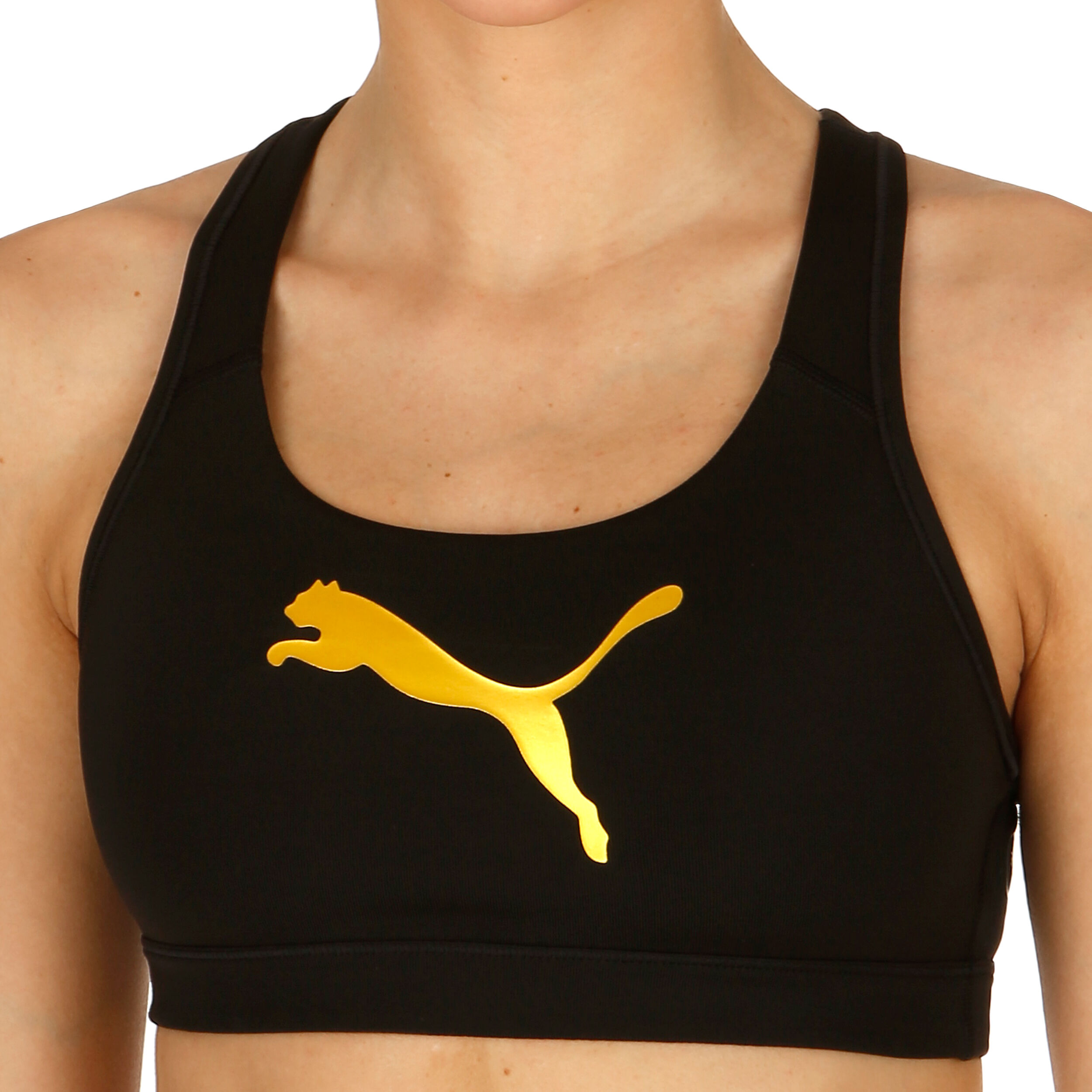 buy Puma Pwrshape Forever Logo Sports Bras Women Black