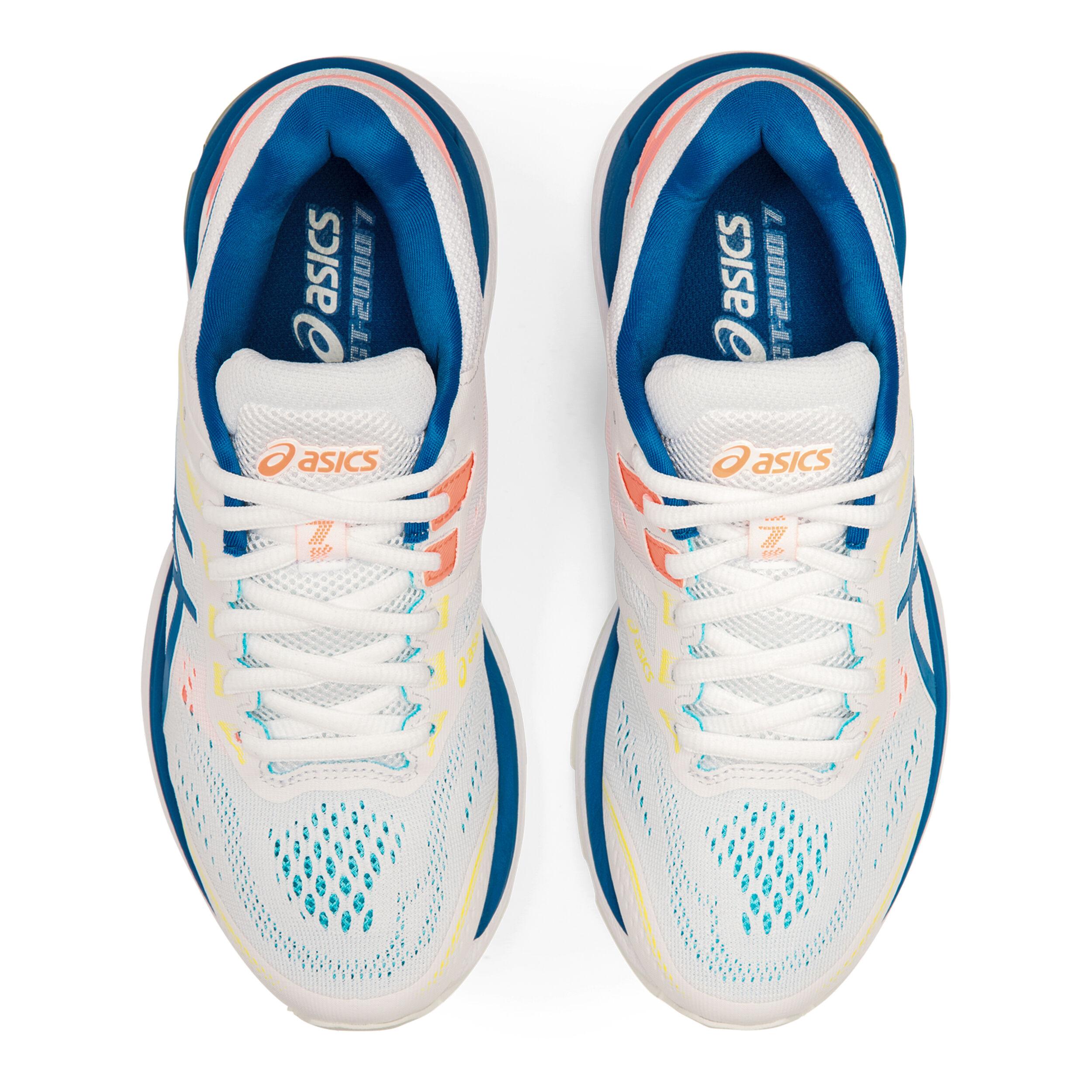 buy Asics GT-2000 7 Stability Running Shoe Women - White ...