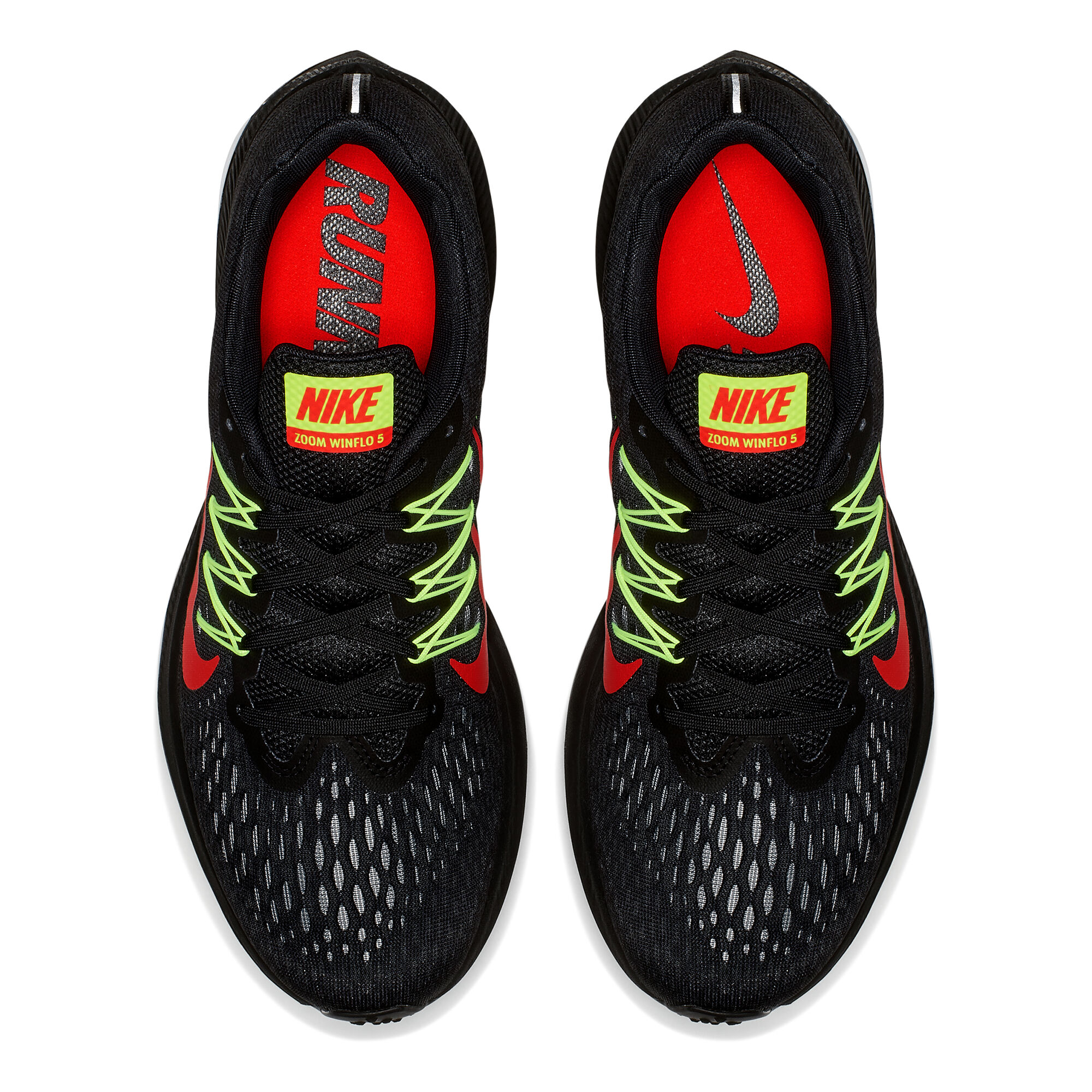 quality design d8c65 fe84e buy Nike Zoom Winflo 5 Men - Black, Neon Green online ...