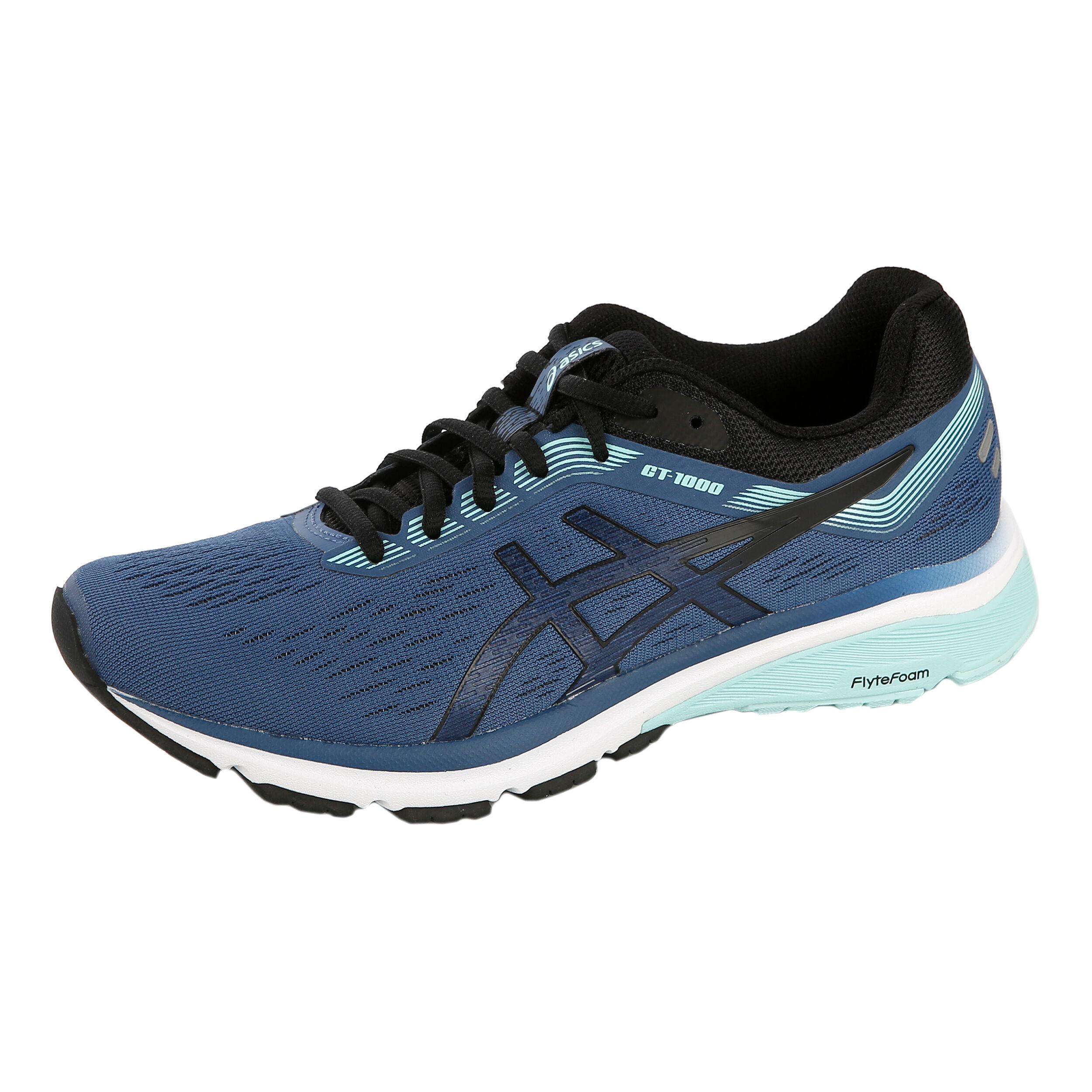 buy Asics GT-1000 7 Stability Running Shoe Women - Blue ...