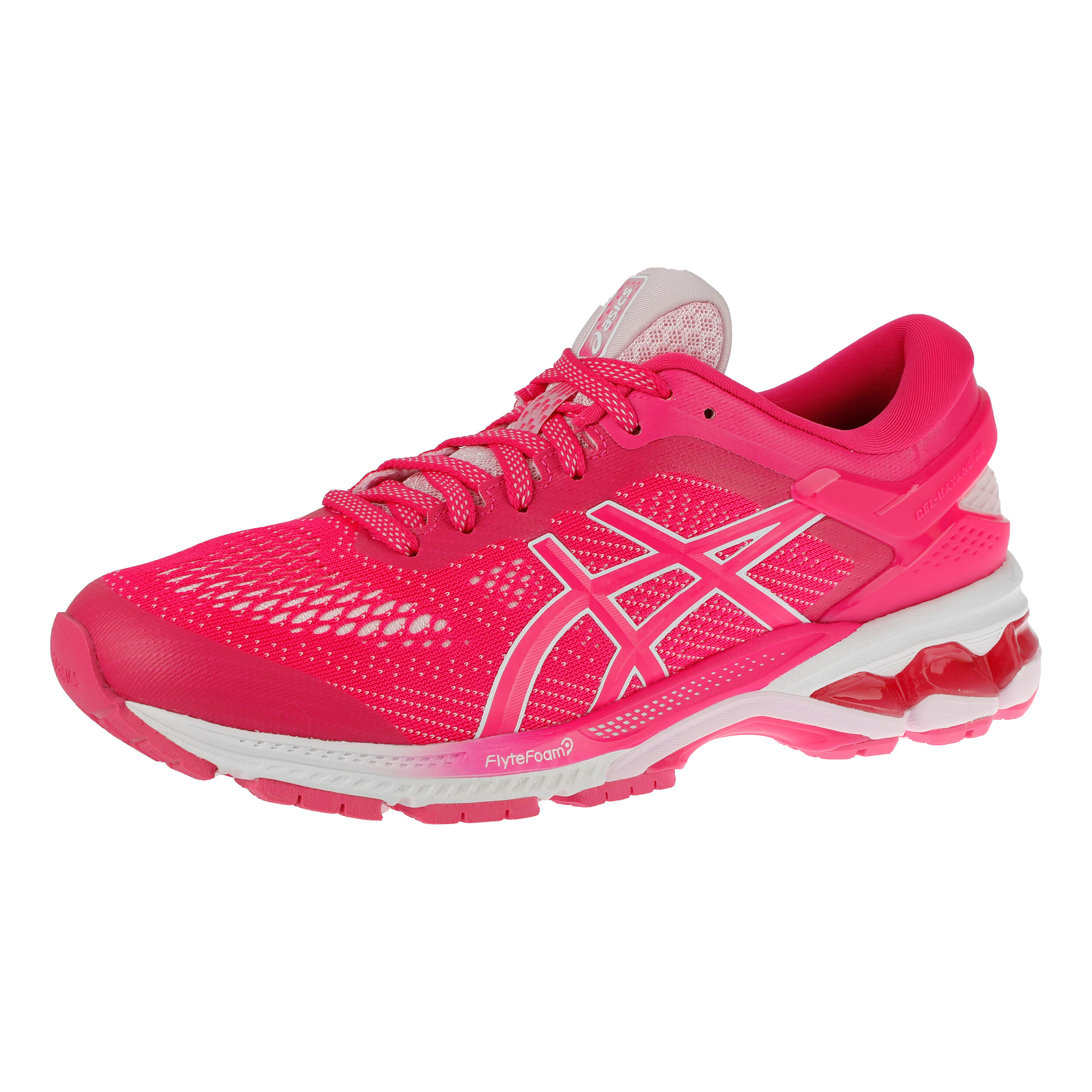 buy Asics Gel-Kayano 26 Stability Running Shoe Women - Pink ...