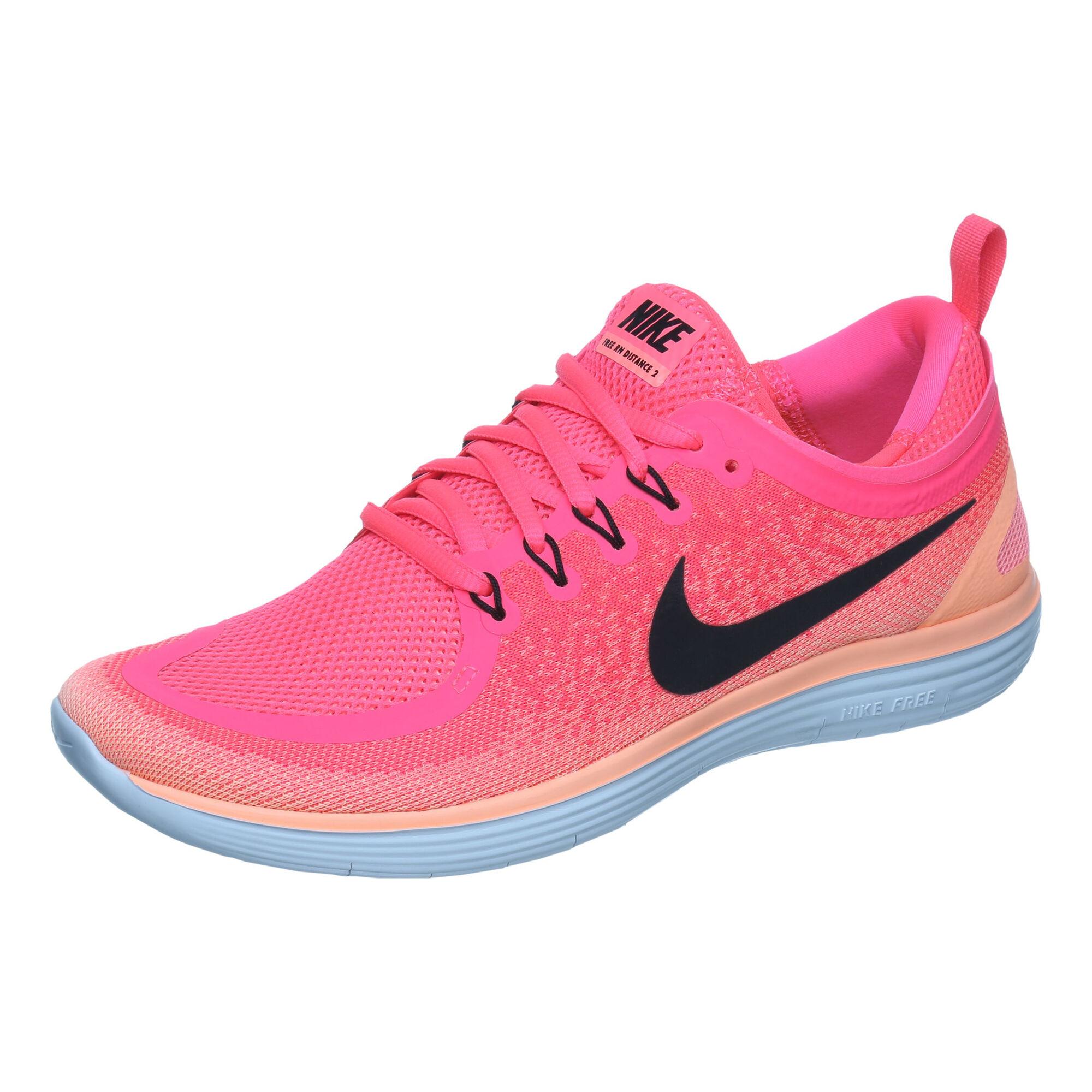bf4e9081129 buy Nike Free RN Distance 2 Natural Running Shoe Women - Pink, Black ...
