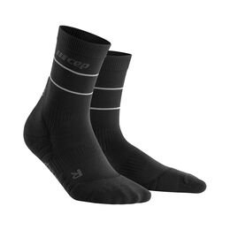 Reflective Mid-Cut Socks Women