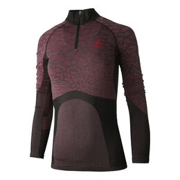 BL Top Turtle Neck Longssleeve Half Zip Blackcomb Women