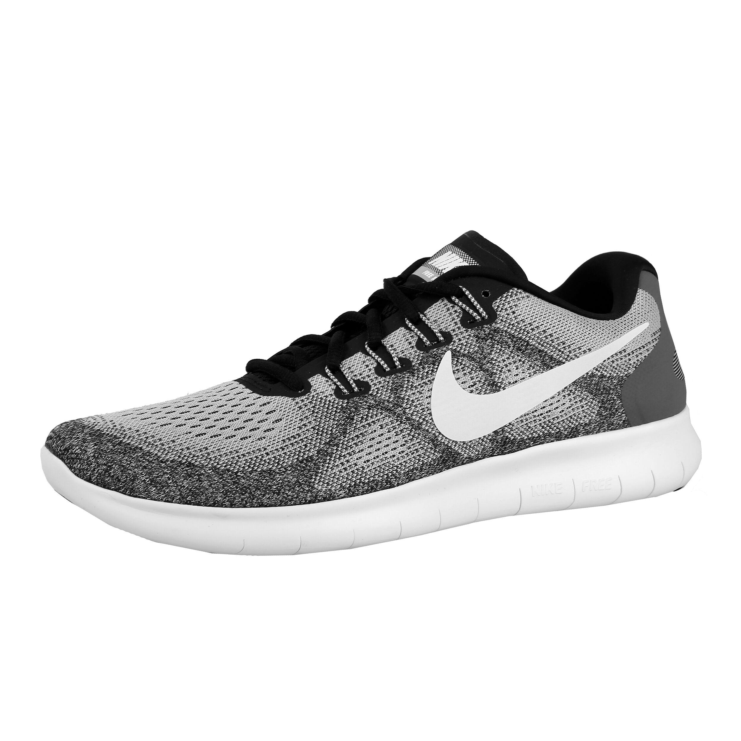 Nike Free Run 2017 Natural Running Shoe Men Lightgrey, Anthracite
