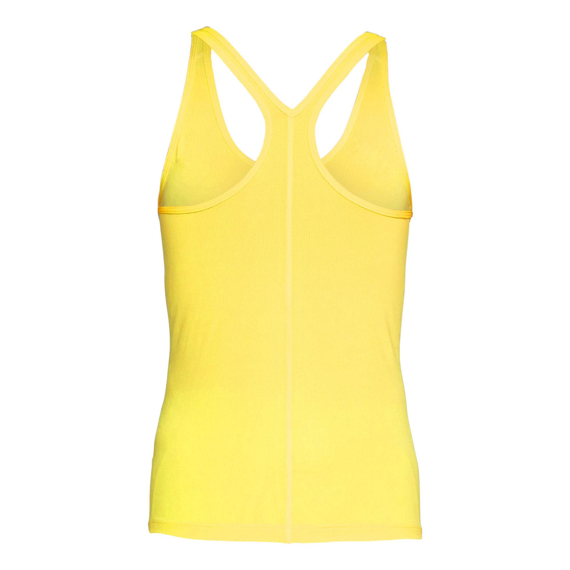 024e64e7973fa buy Under Armour Heatgear Armour Racer Tank Top Women - Yellow ...